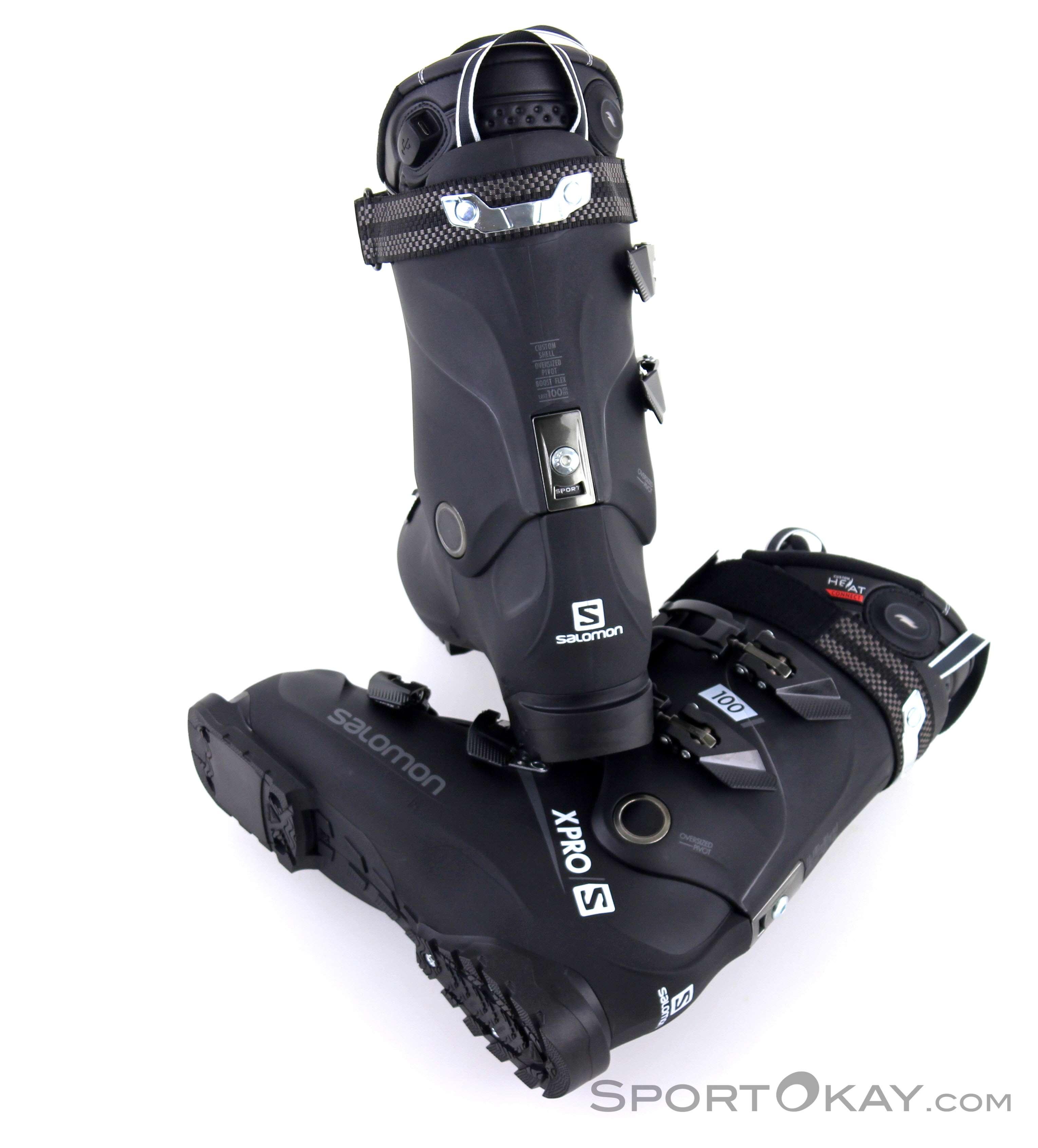 Salomon Salomon X Pro 100 Custom Heat Connect Mens Ski Boots