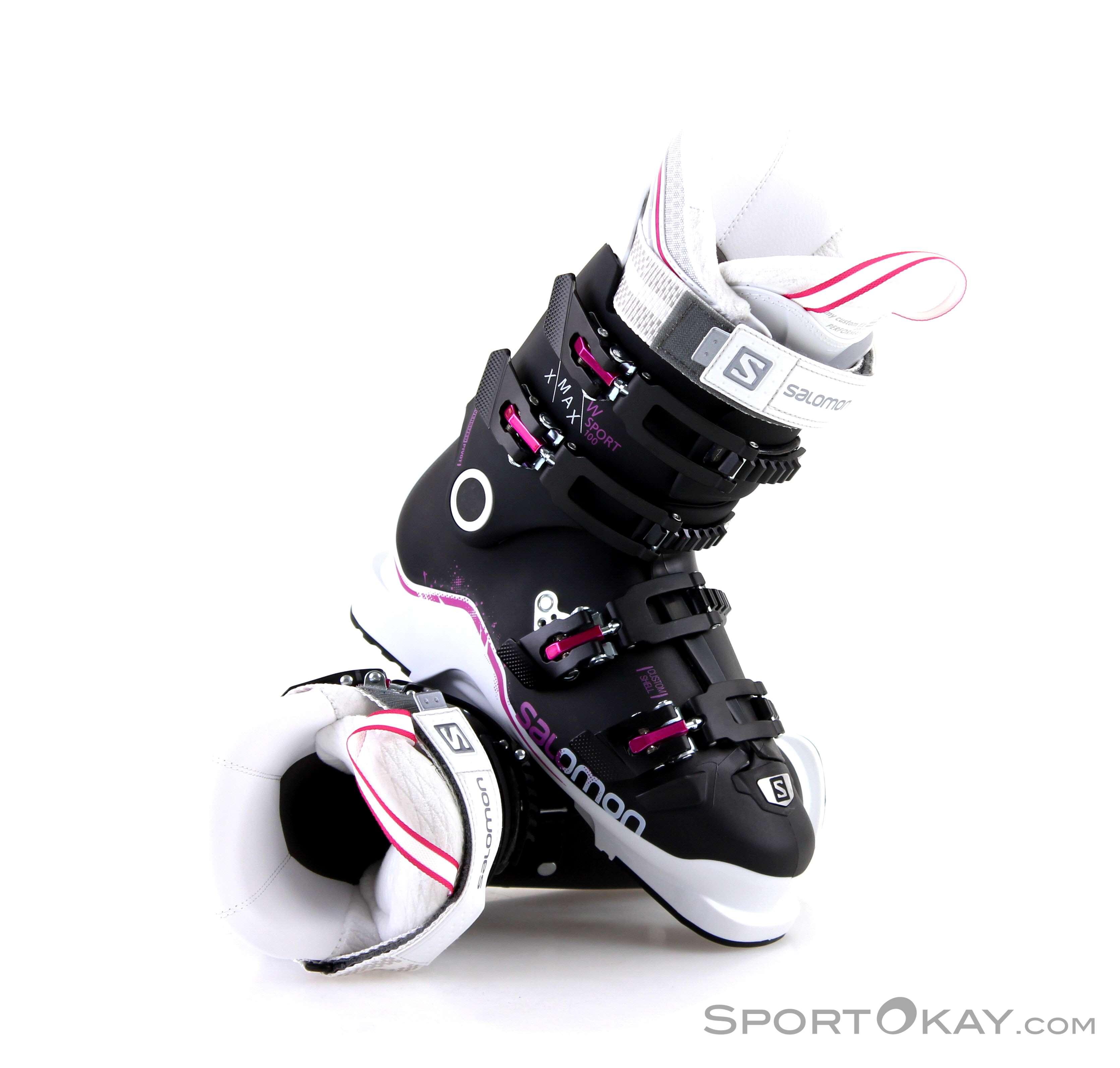 Schnäppchen für Mode schöner Stil Wählen Sie für echte Salomon Salomon X Max Sport 100 Damen Skischuhe