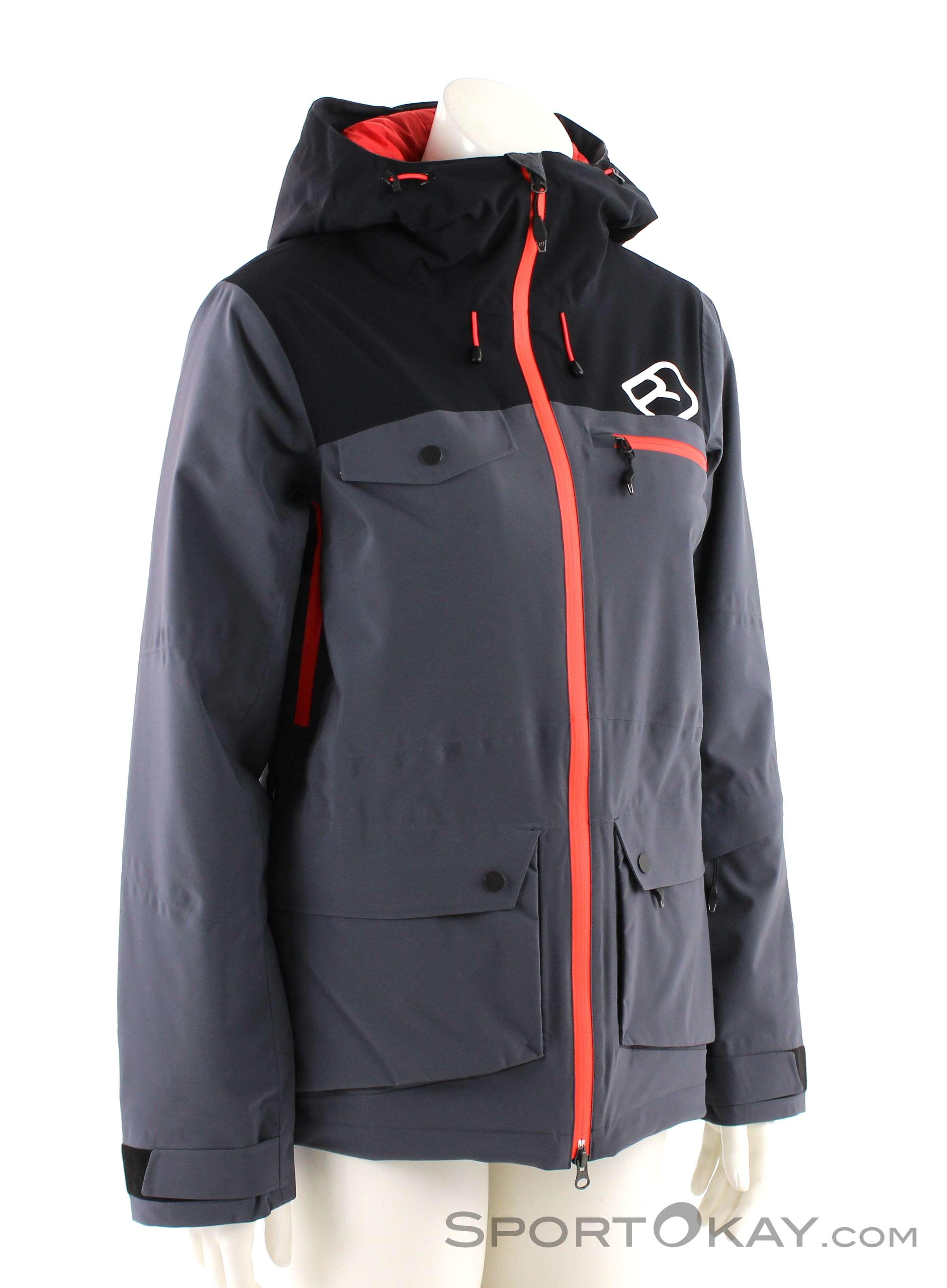 Ortovox 2L Swisswool Andermatt Jacket Damen Tourenjacke