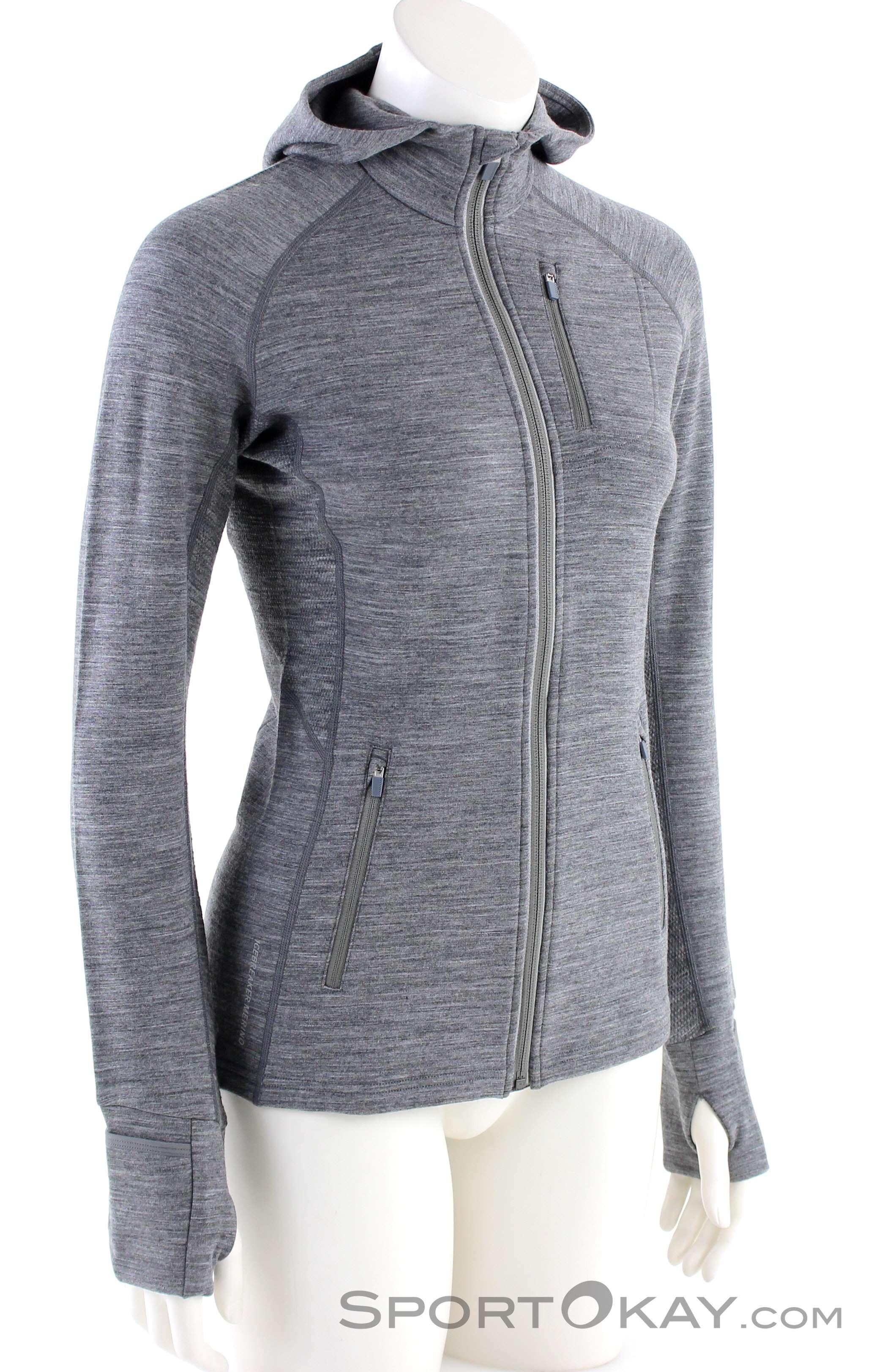 Icebreaker Icebreaker Quantum LS FZ Damen Outdoorsweater