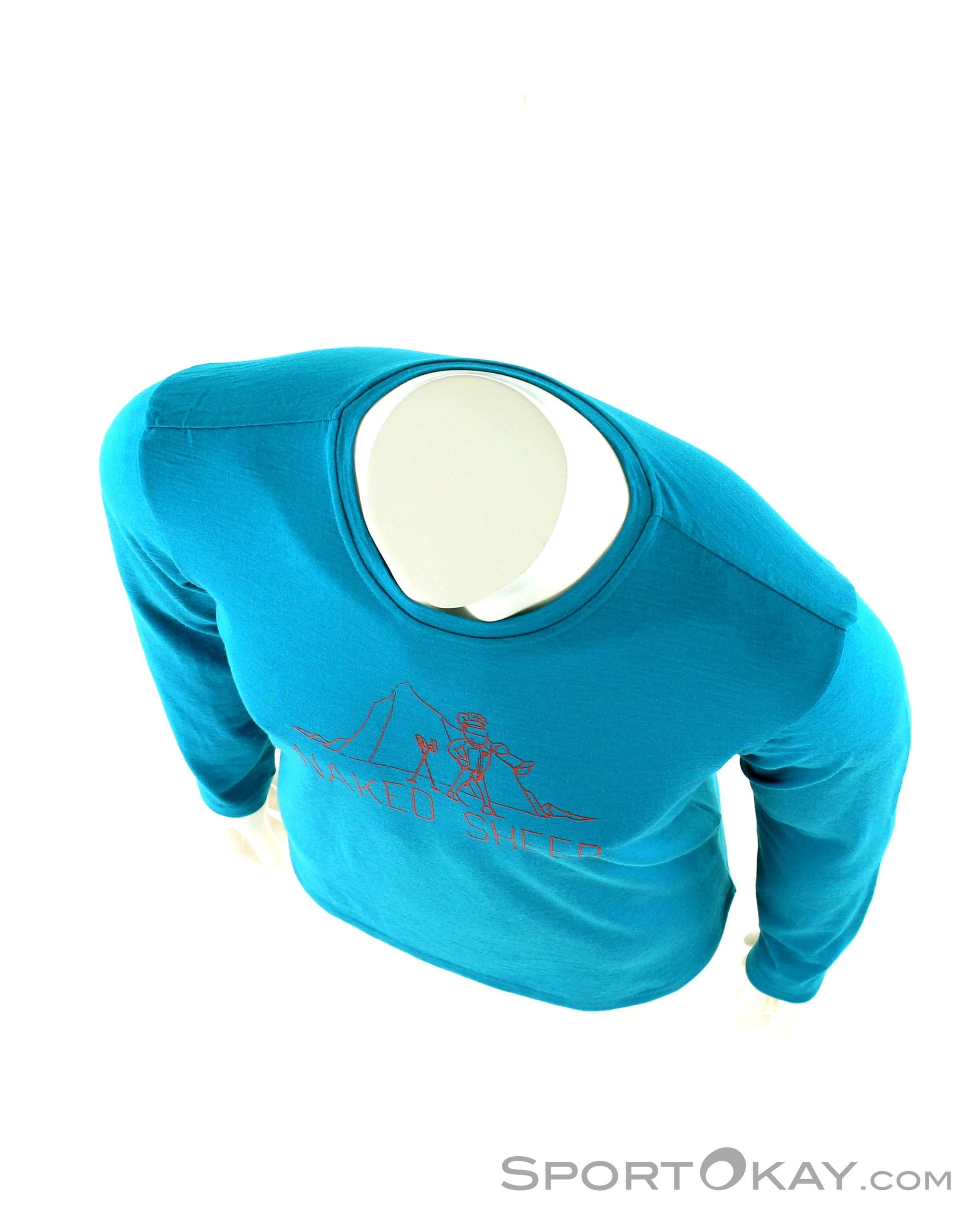 Uomo Ls Sheep Ortovox Naked Abbigliamento Funzionale 145 Maglia wIRqAF