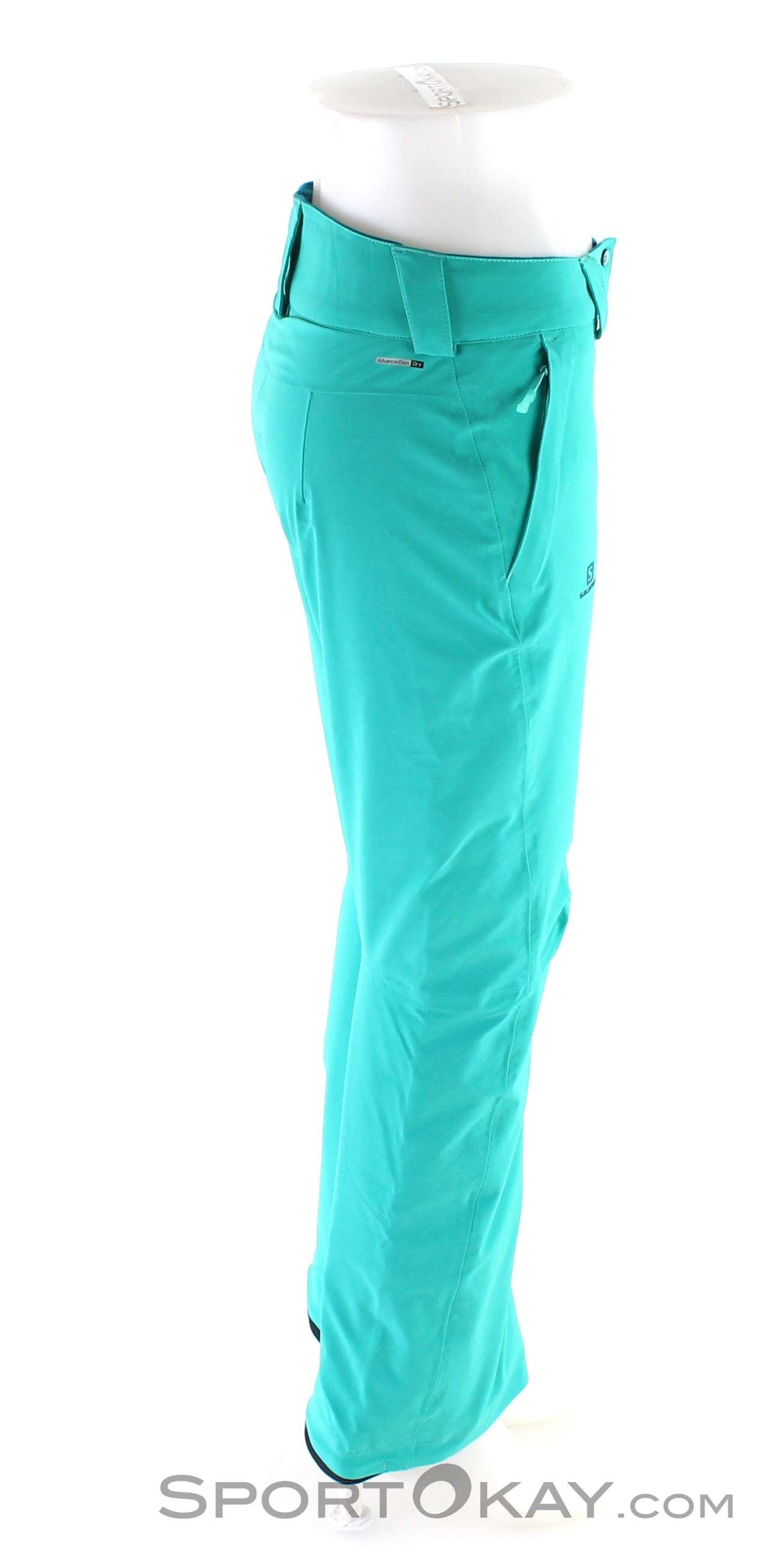 SALOMON Icetrip W Hose für Damen, Farbe Schwarz, Größe L