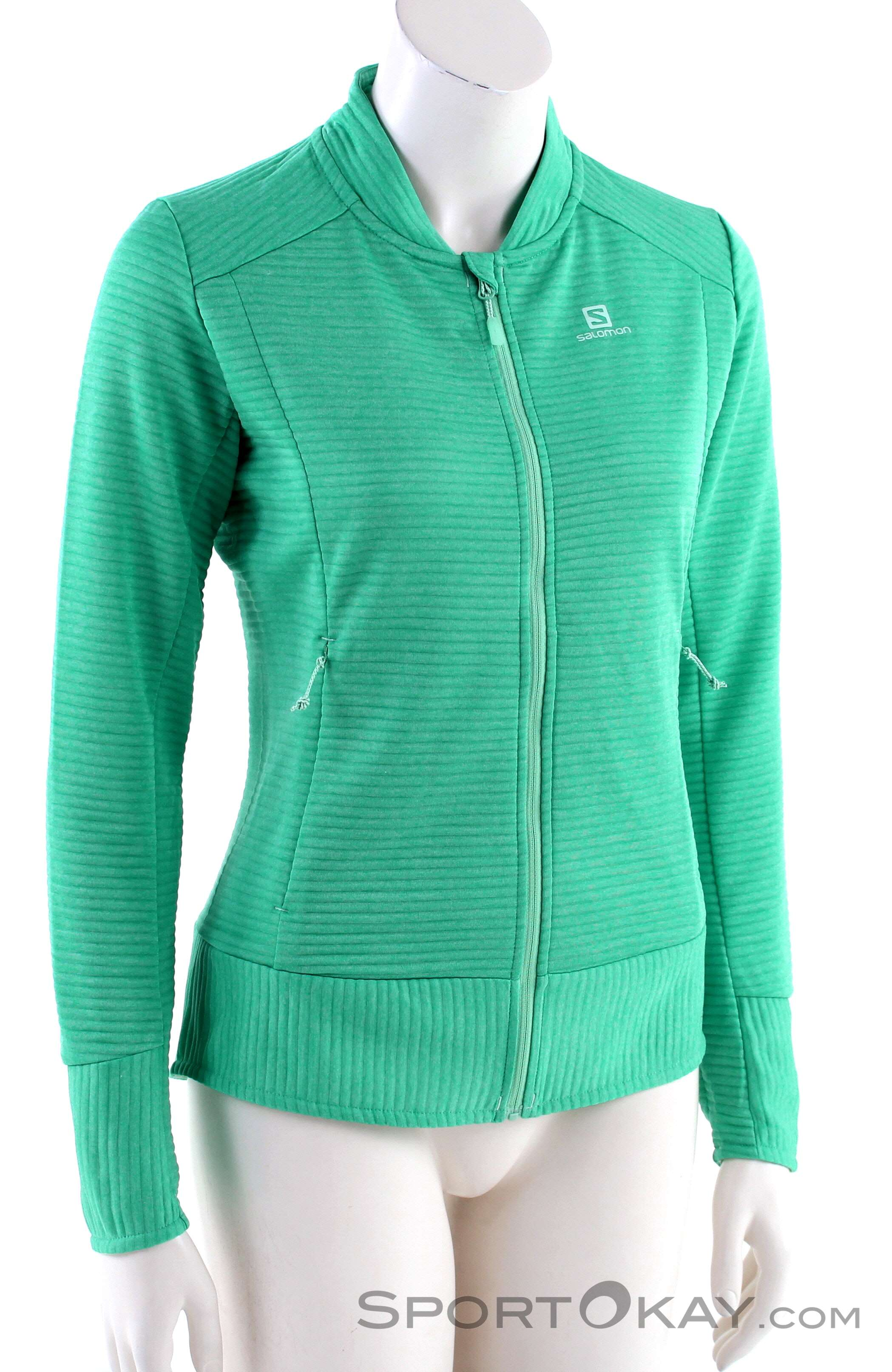 Salomon Right Nice Mid FZ Damen Skisweater Sweater k82B2
