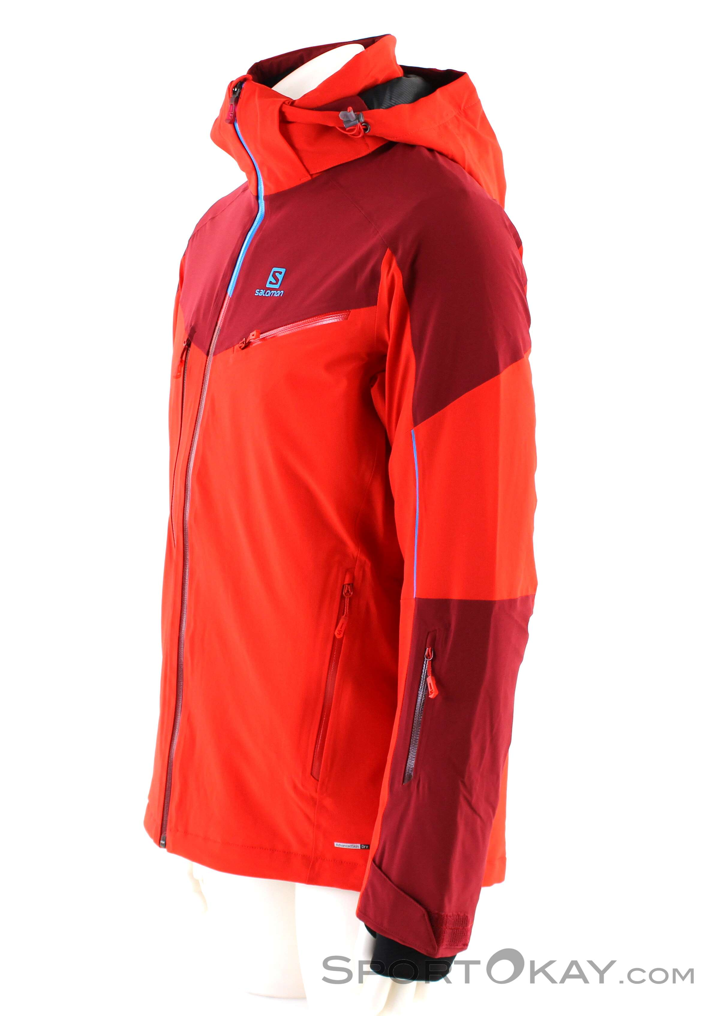 Salomon Icespeed Jacket Mens Ski Jacket Ski Jackets Ski