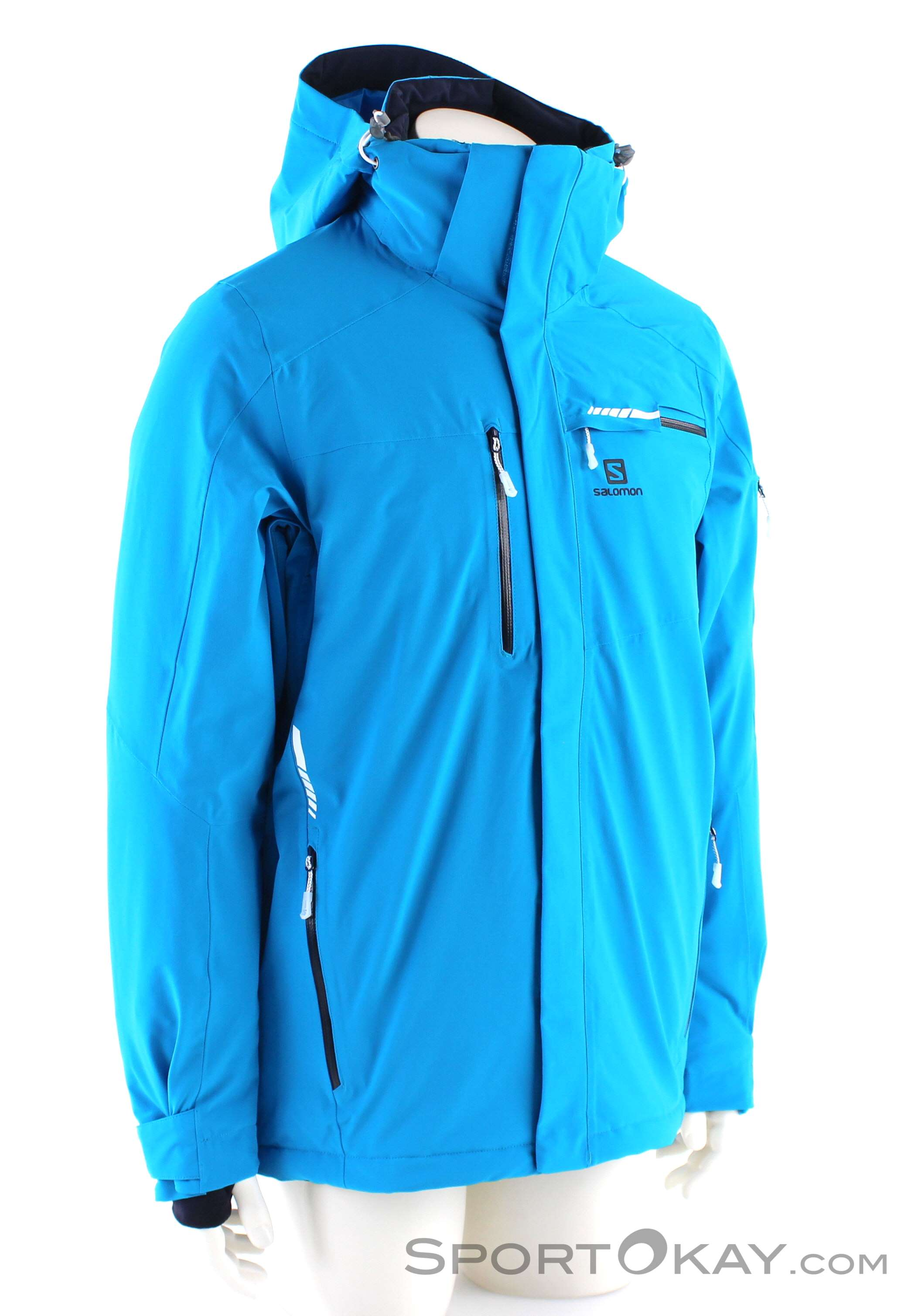 Salomon Whitezone Hardshell Jacket Men surf night sky