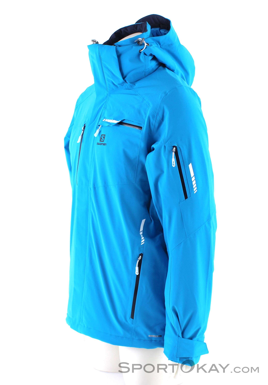 Salomon Brilliant Jacket Mens Ski Jacket Ski Jackets Ski