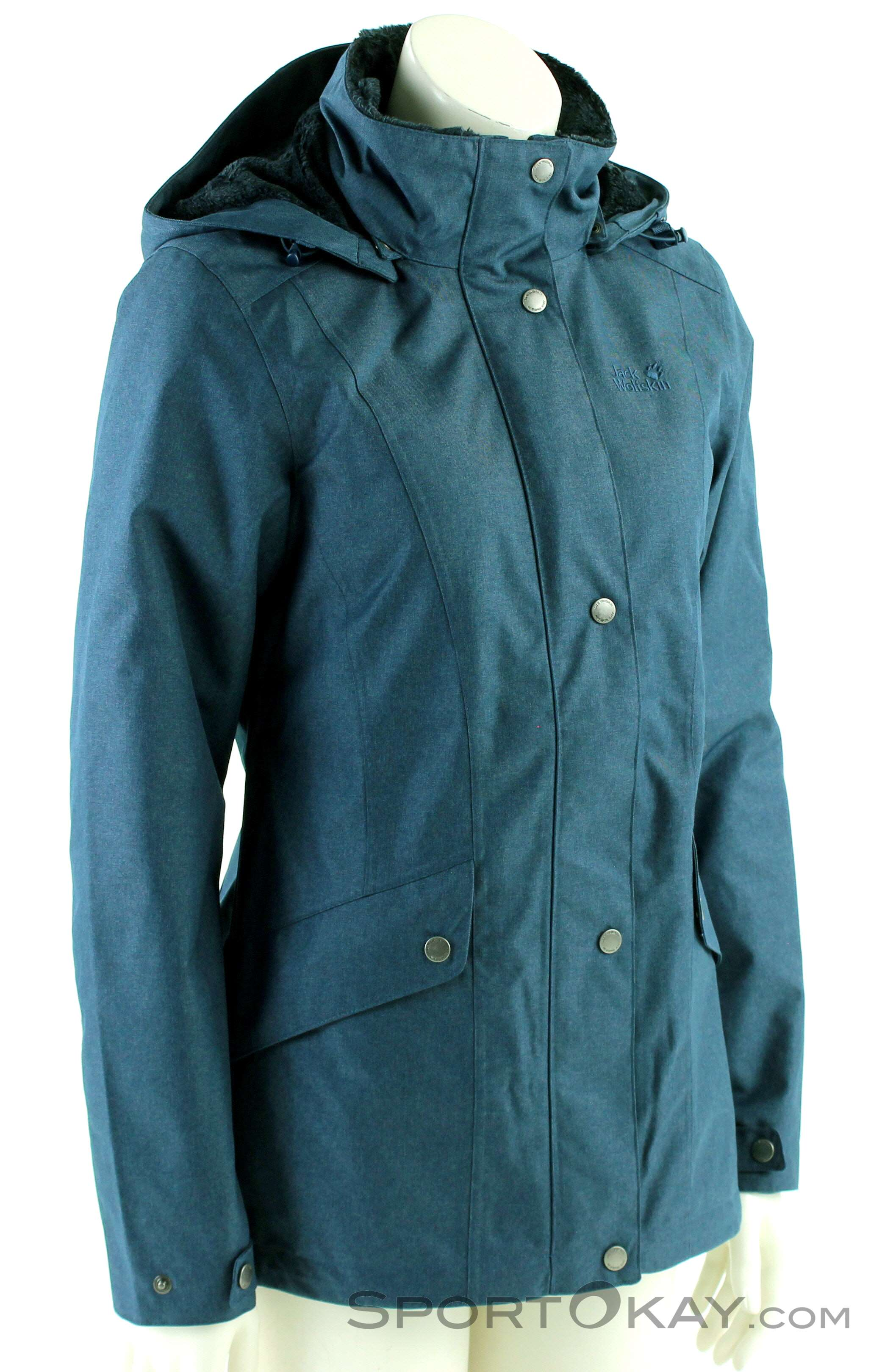jack wolfskin outdoormantel damen