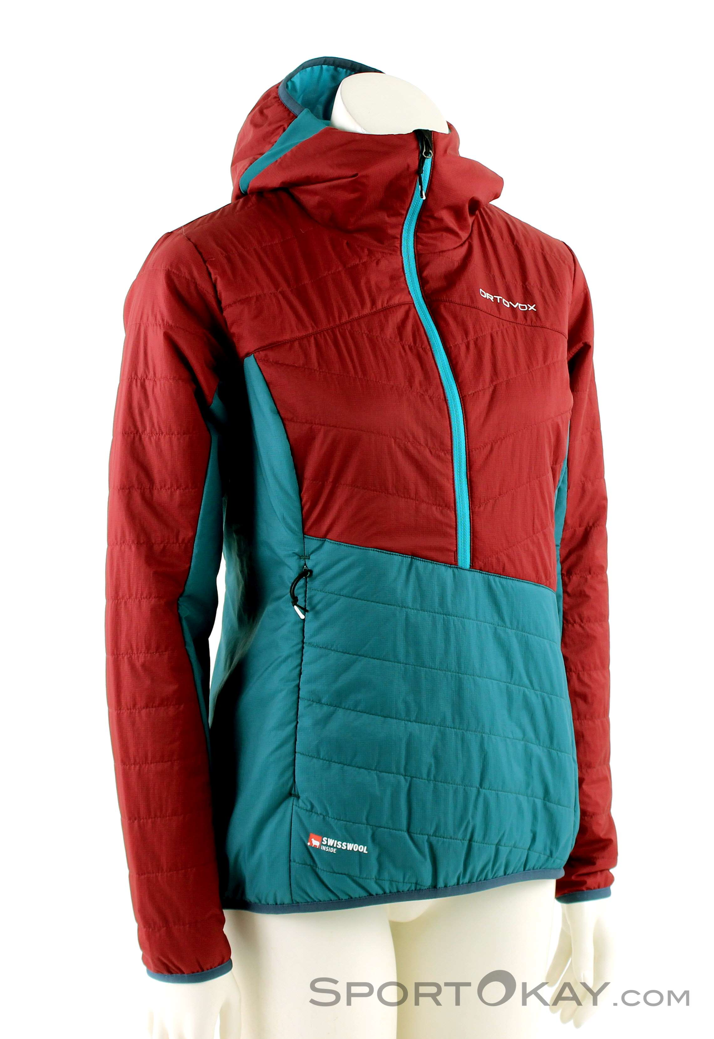 newest 05700 85d18 Ortovox Ortovox Swisswool Dufour Anorak Womens Outdoor Jacket