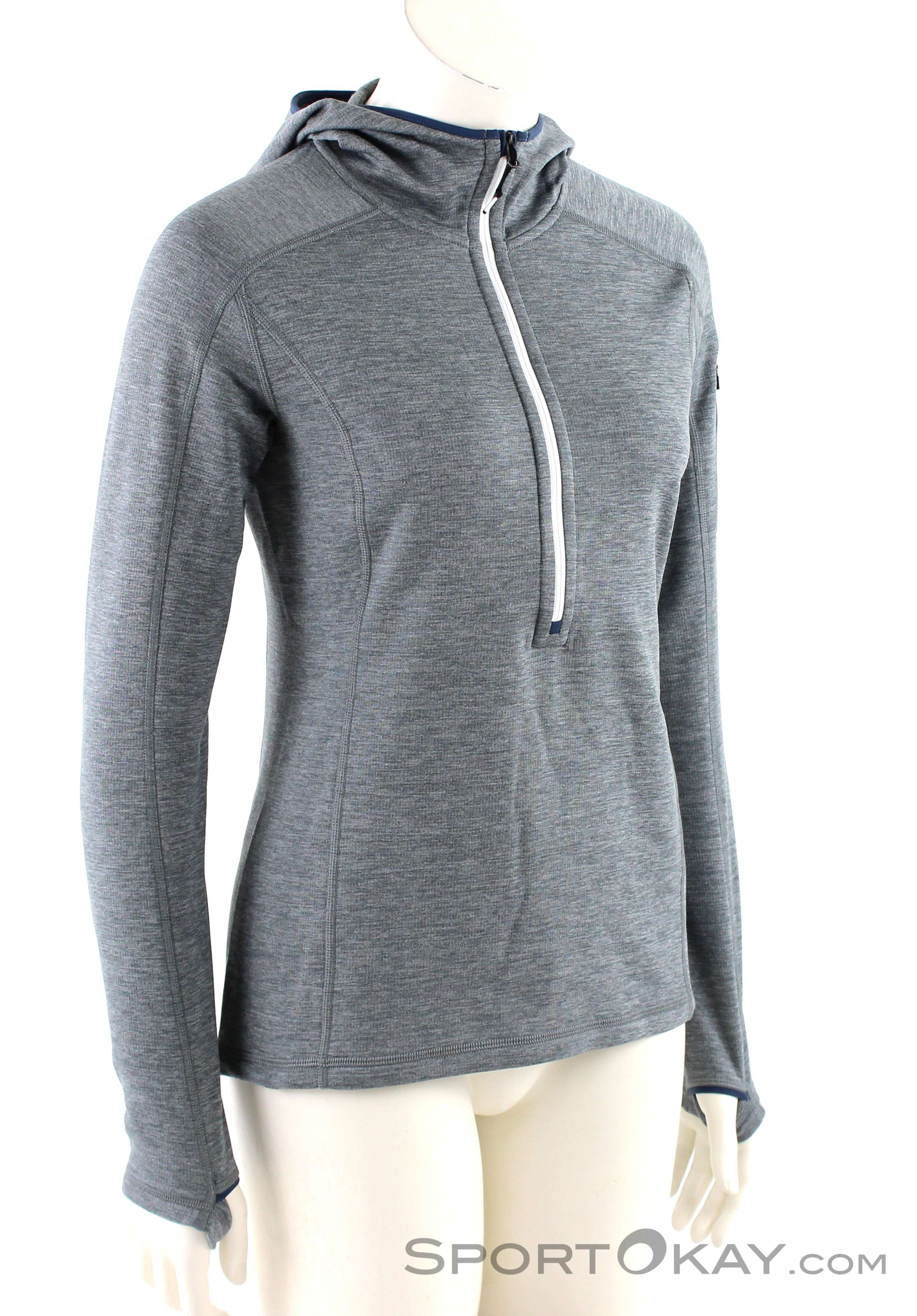 Ortovox Ortovox Fleece Light Melange Zneck Womens Fleece Jacket