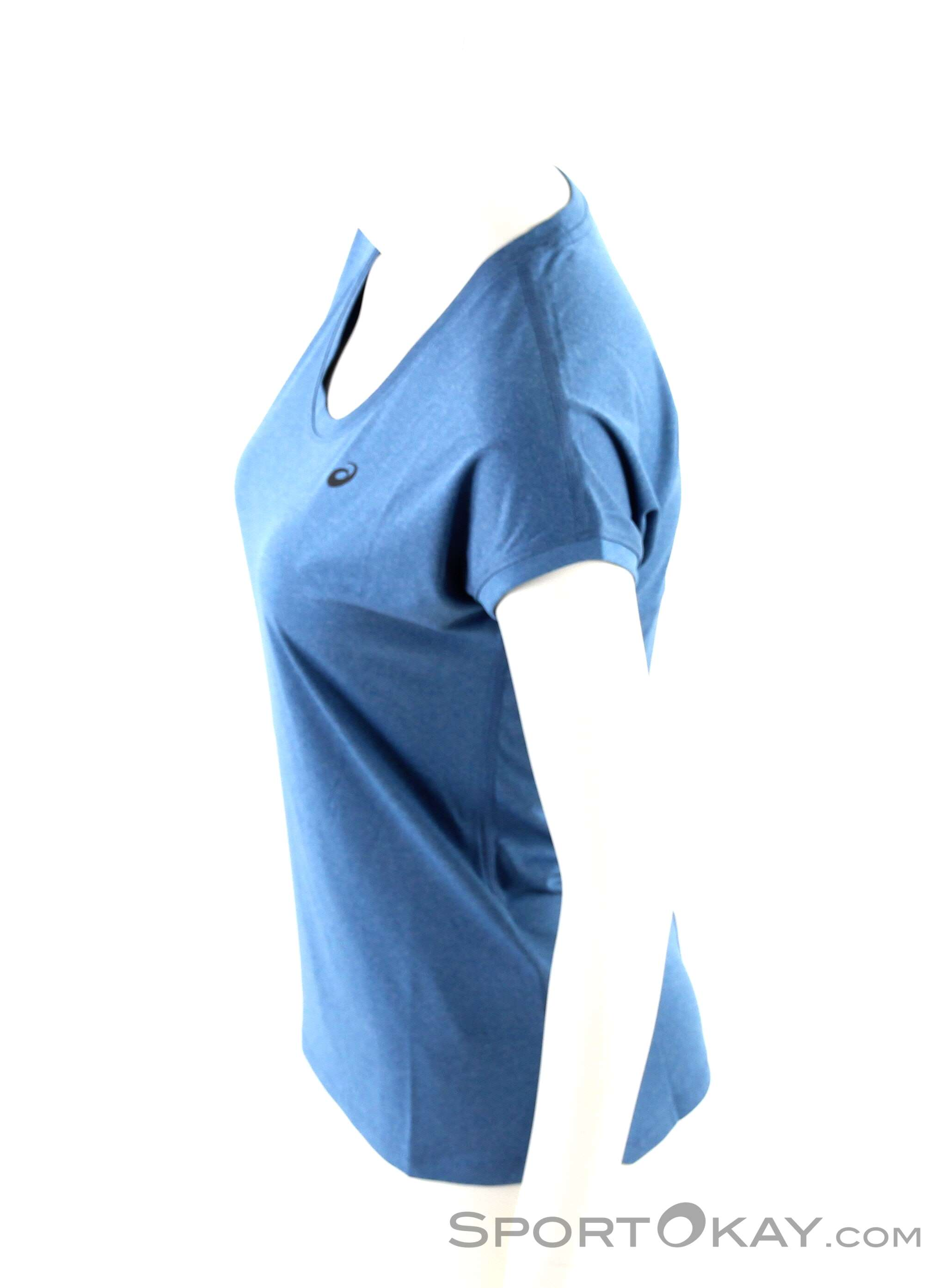 Maglieta Magliette Donna amp; Asics T Top Shirt Capsleeve PxgfvqH