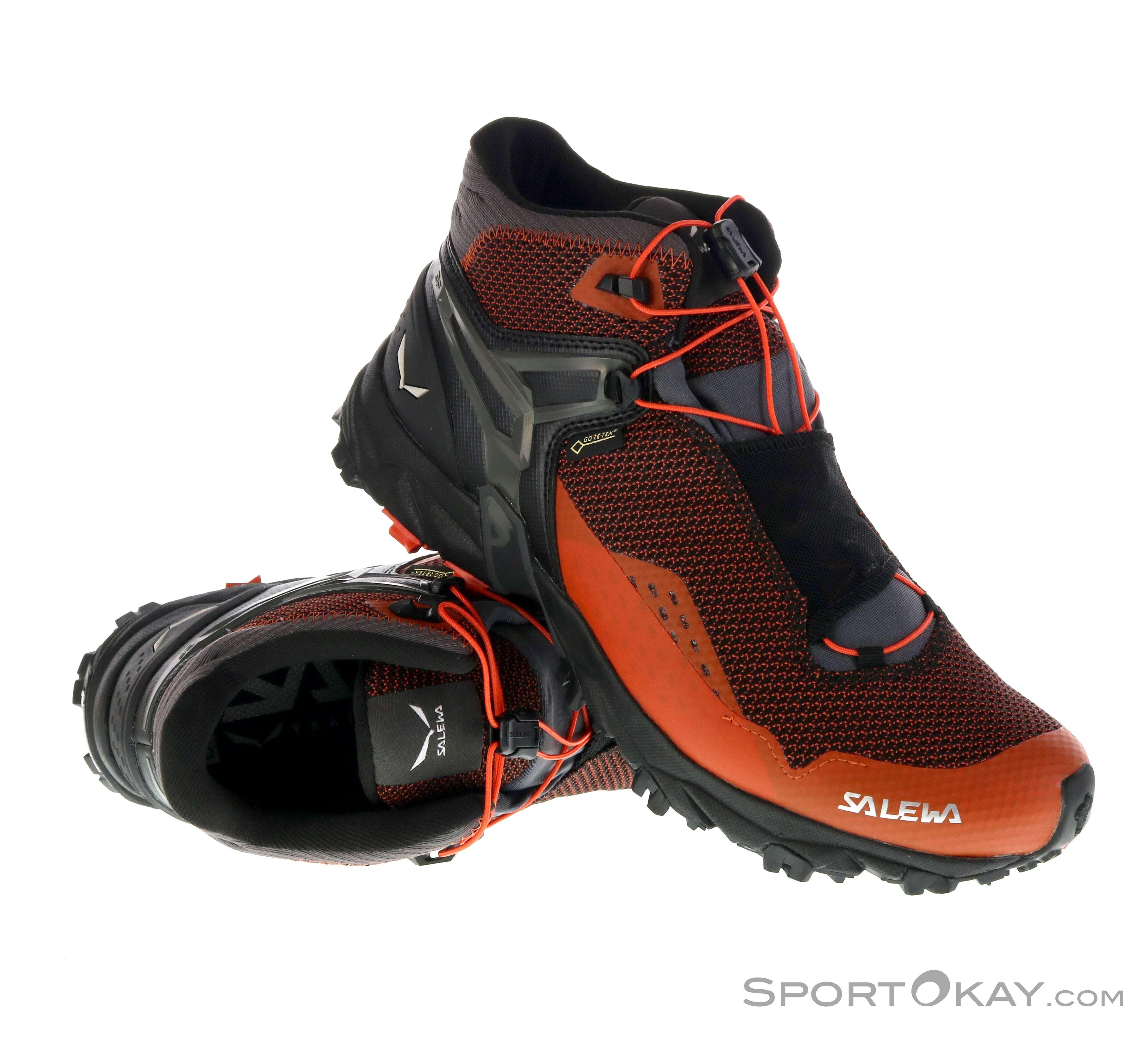 Uomo Scarpe Trail Mid Running Ultra Salewa Tex Flex Da Gore RA4jL3q5