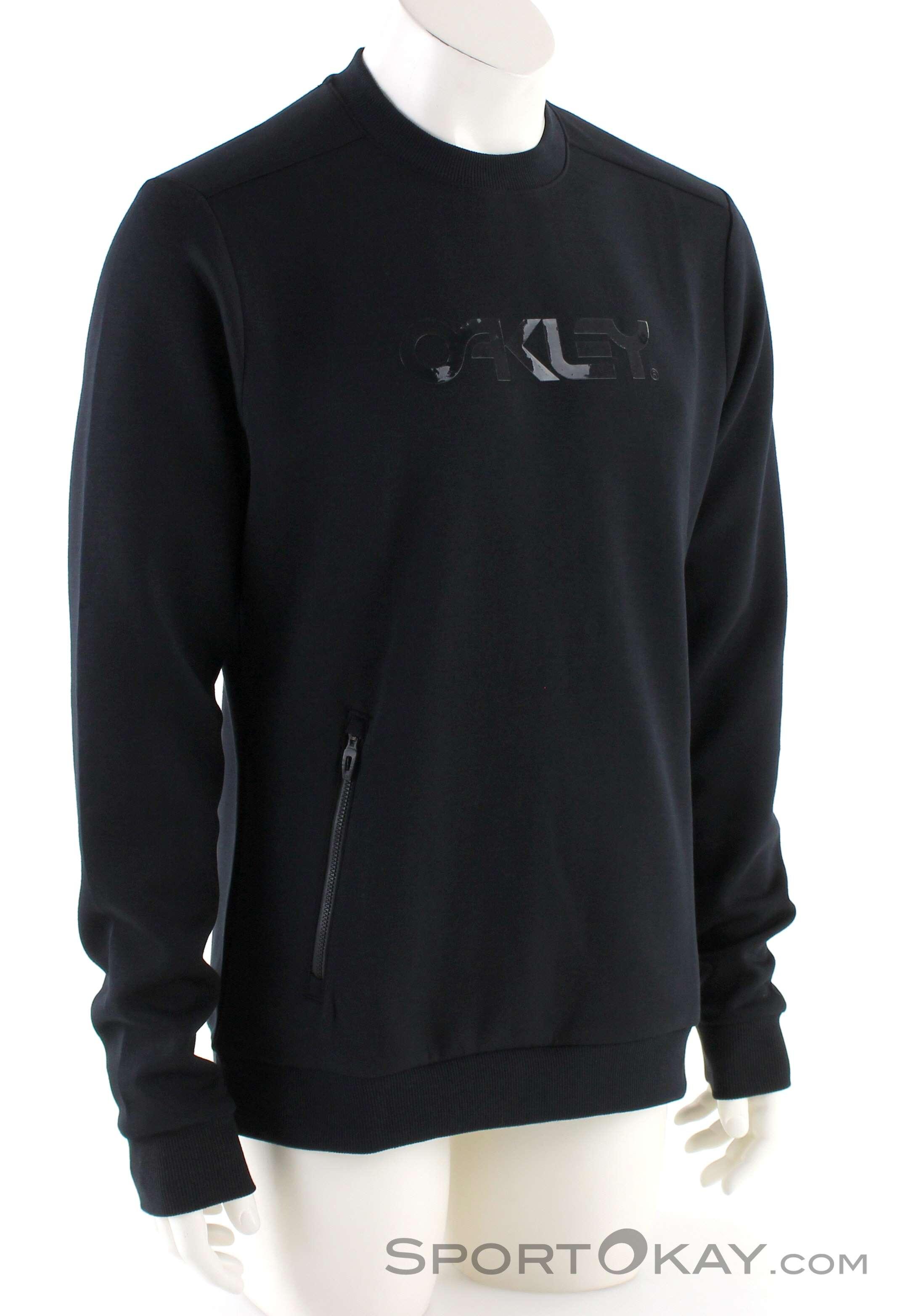 721c3d5be2 Oakley Crewneck Scuba Herren Sweater, Oakley, Black, , Male, 0064-10142