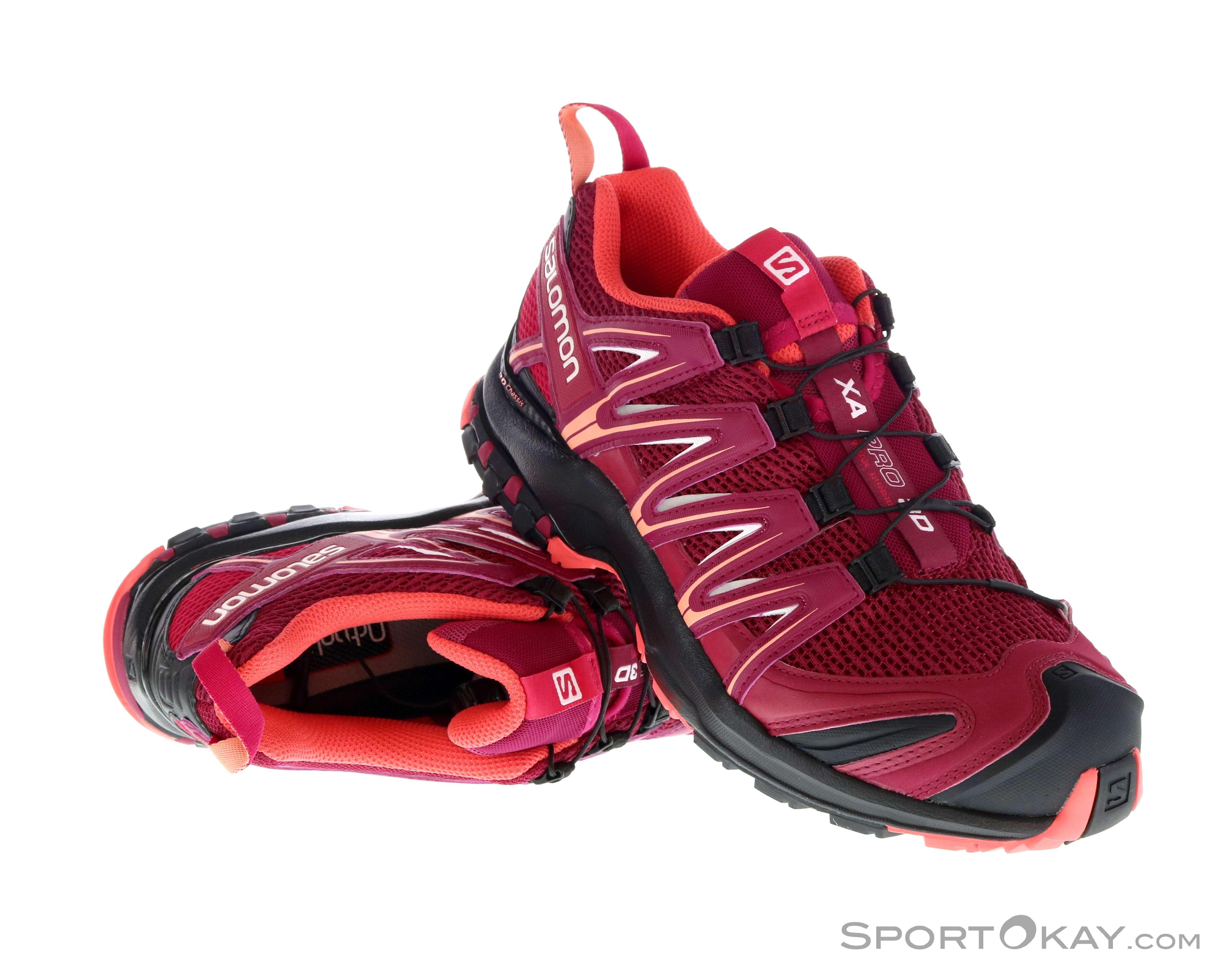 Salomon XA Pro 3D Womens Trail Running Shoes Trail Running