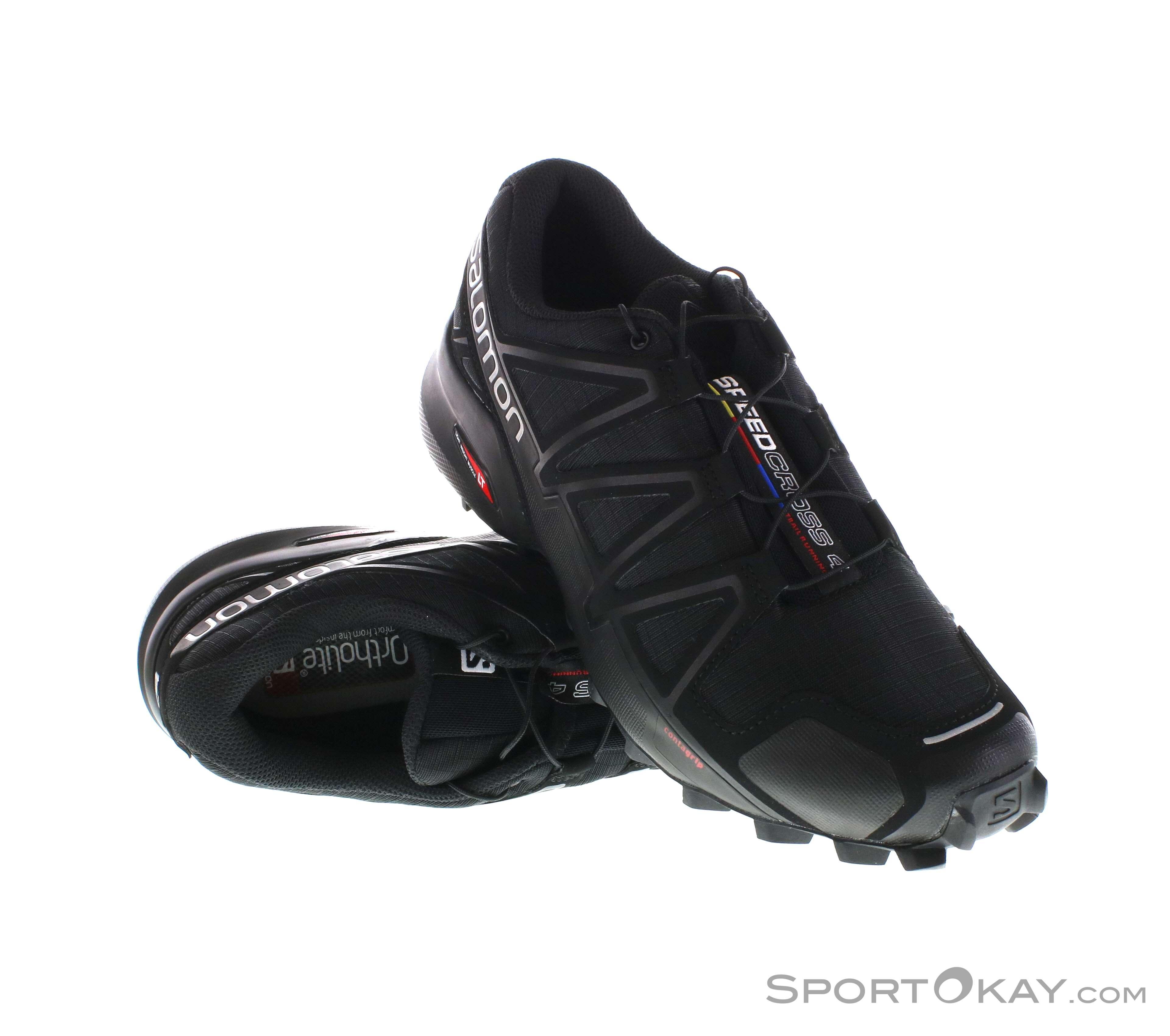 Retro SALOMON ( schwarz ) Traillaufschuh Speedcross 4 GTX