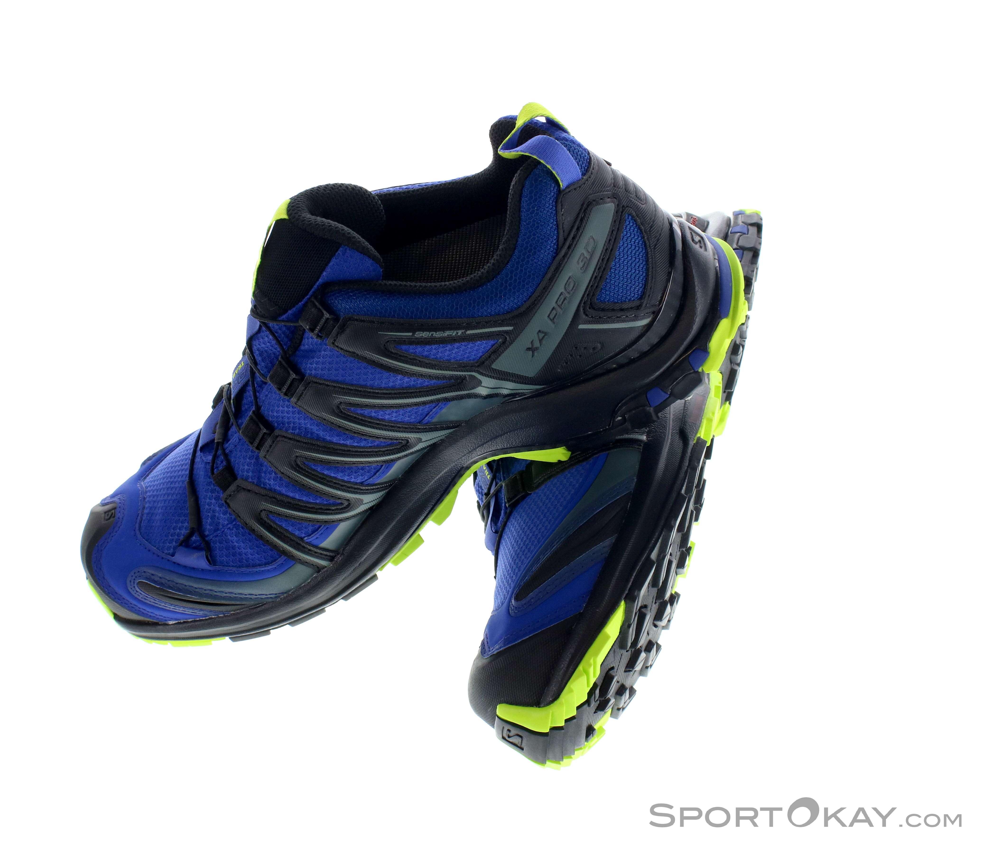 SALOMON Sportschuhe 3D Chassis mountain trail Gr. 45 UK 10,5 TOP