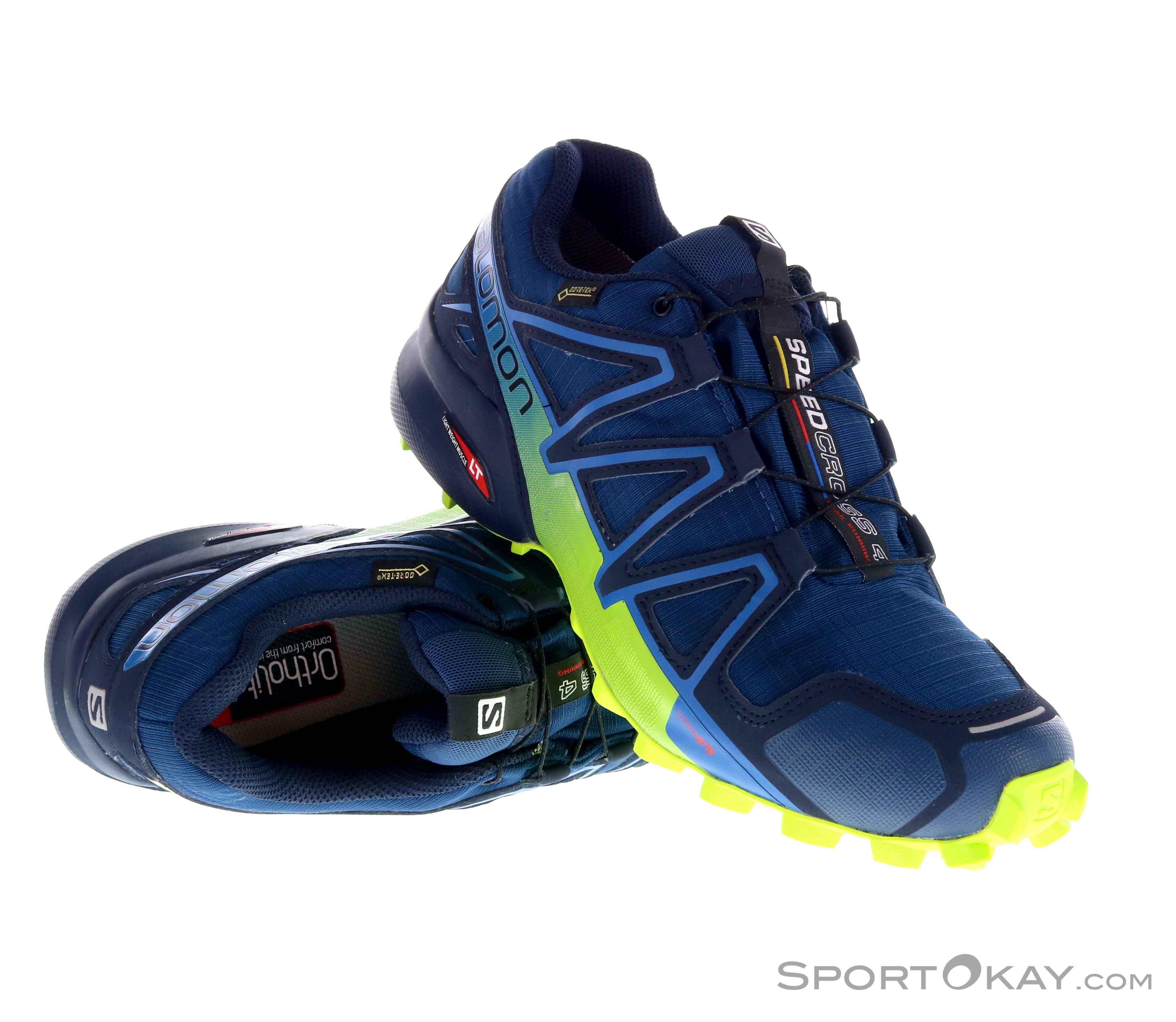 Salomon Speedcross 4 Uomo Scarpe da Trail Running Gore-Tex - Scarpe ... 94f1647741c