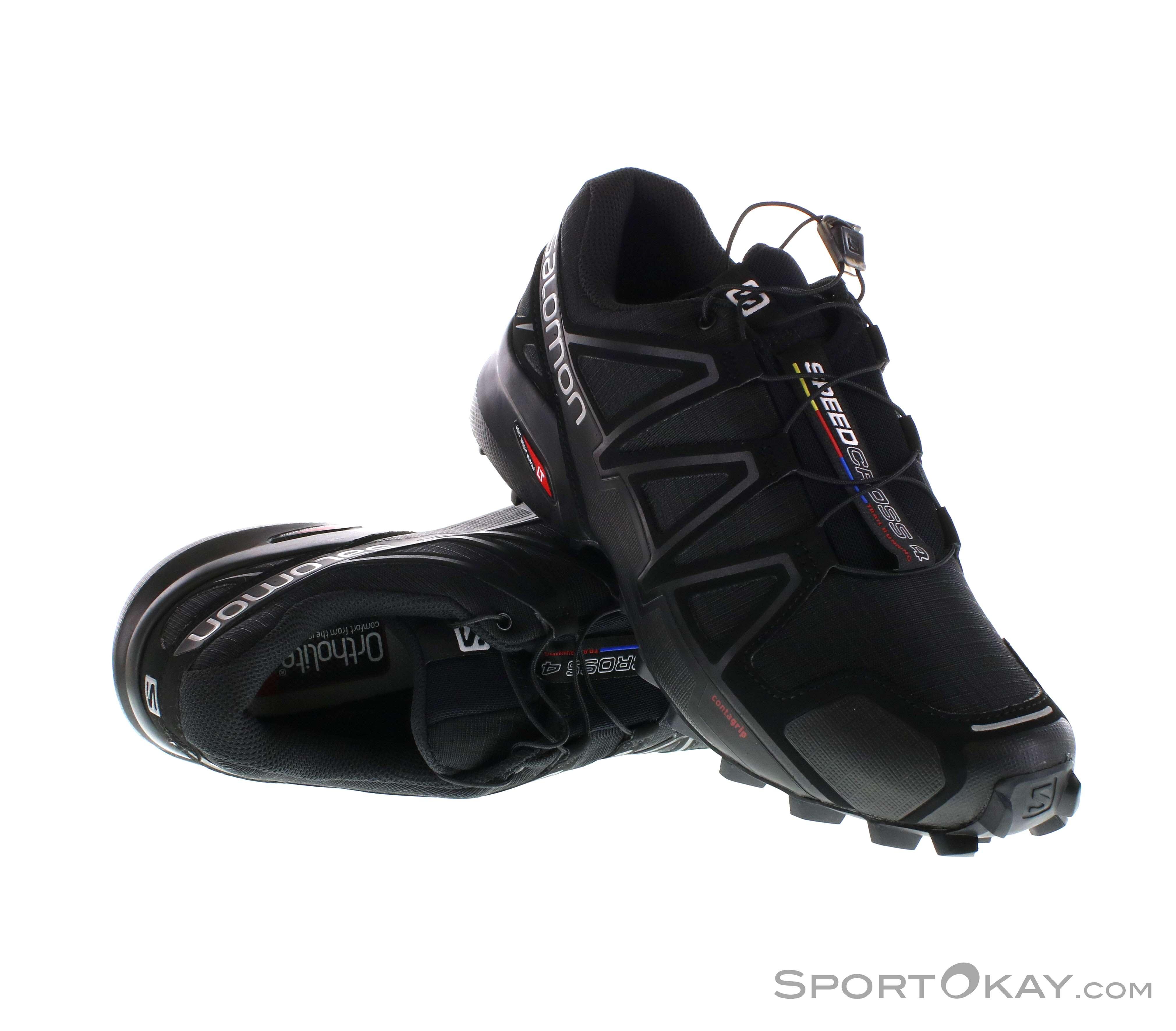 on sale 82d36 1d443 Salomon Salomon Speedcross 4 Herren Traillaufschuhe