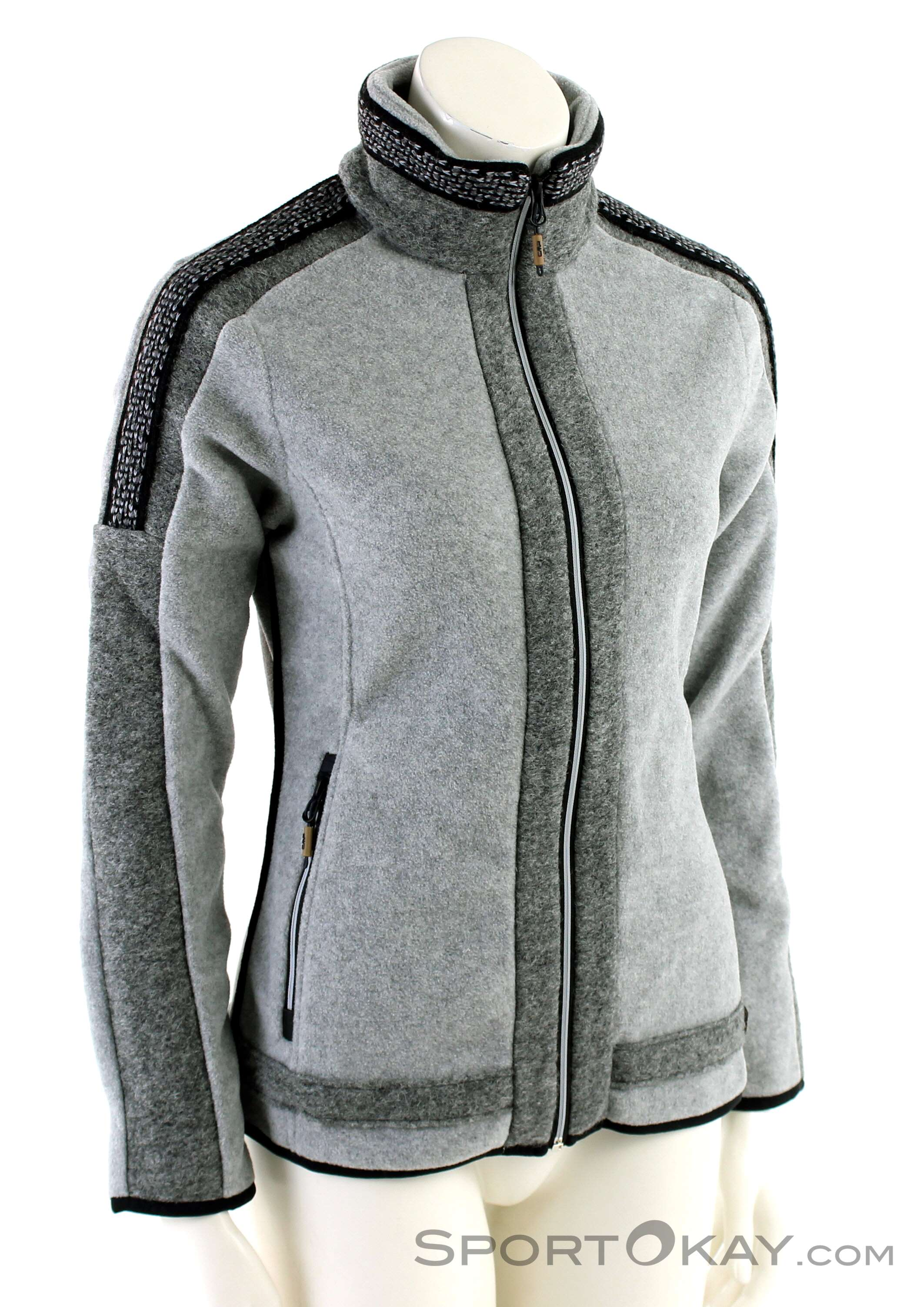 colors of the world jacke fleece zipper damen