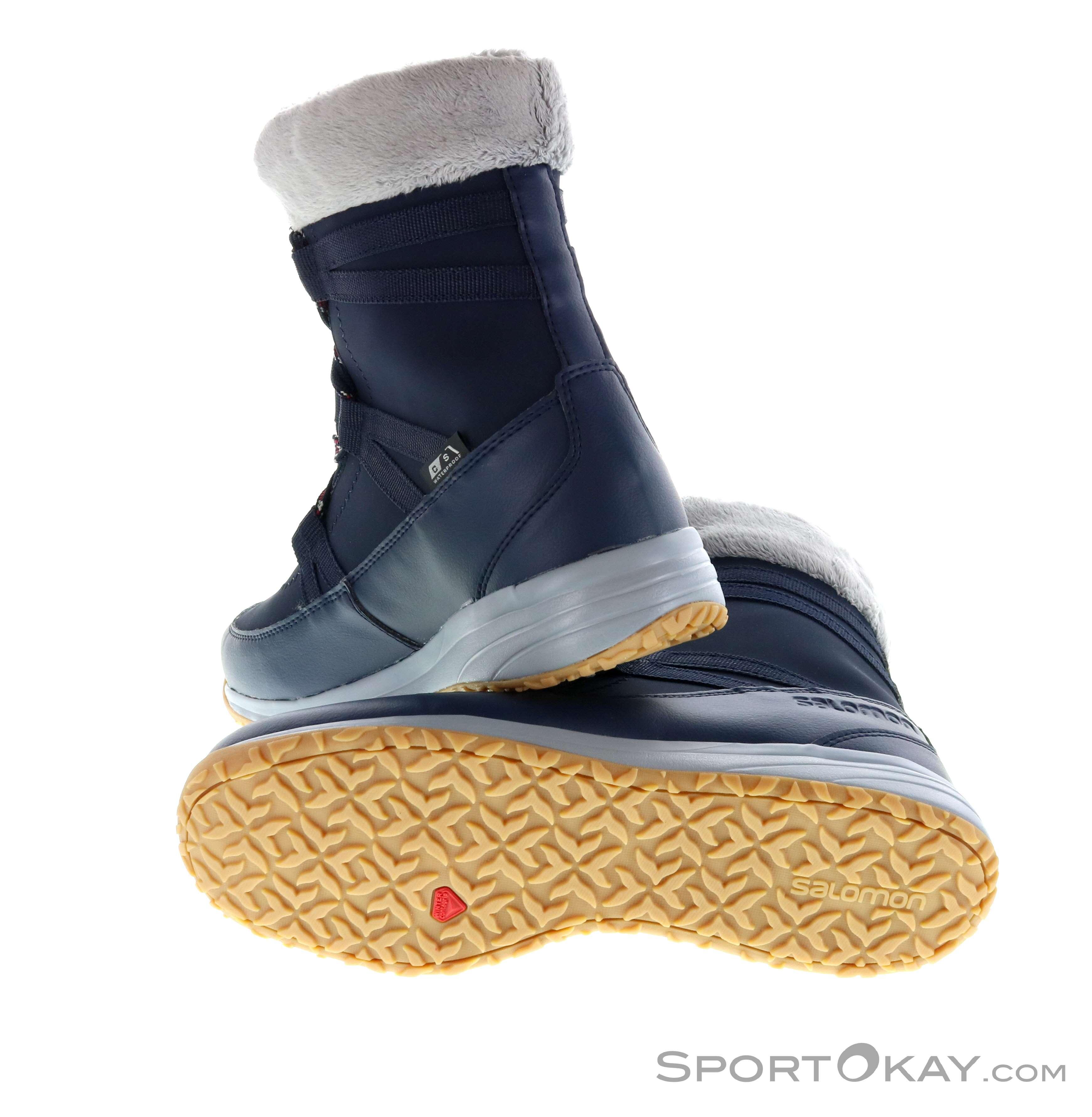 ae2bf5a0b346 Salomon Heika LTR CSWP Womens Winter Shoes - Gore-Tex Boots - Winter ...