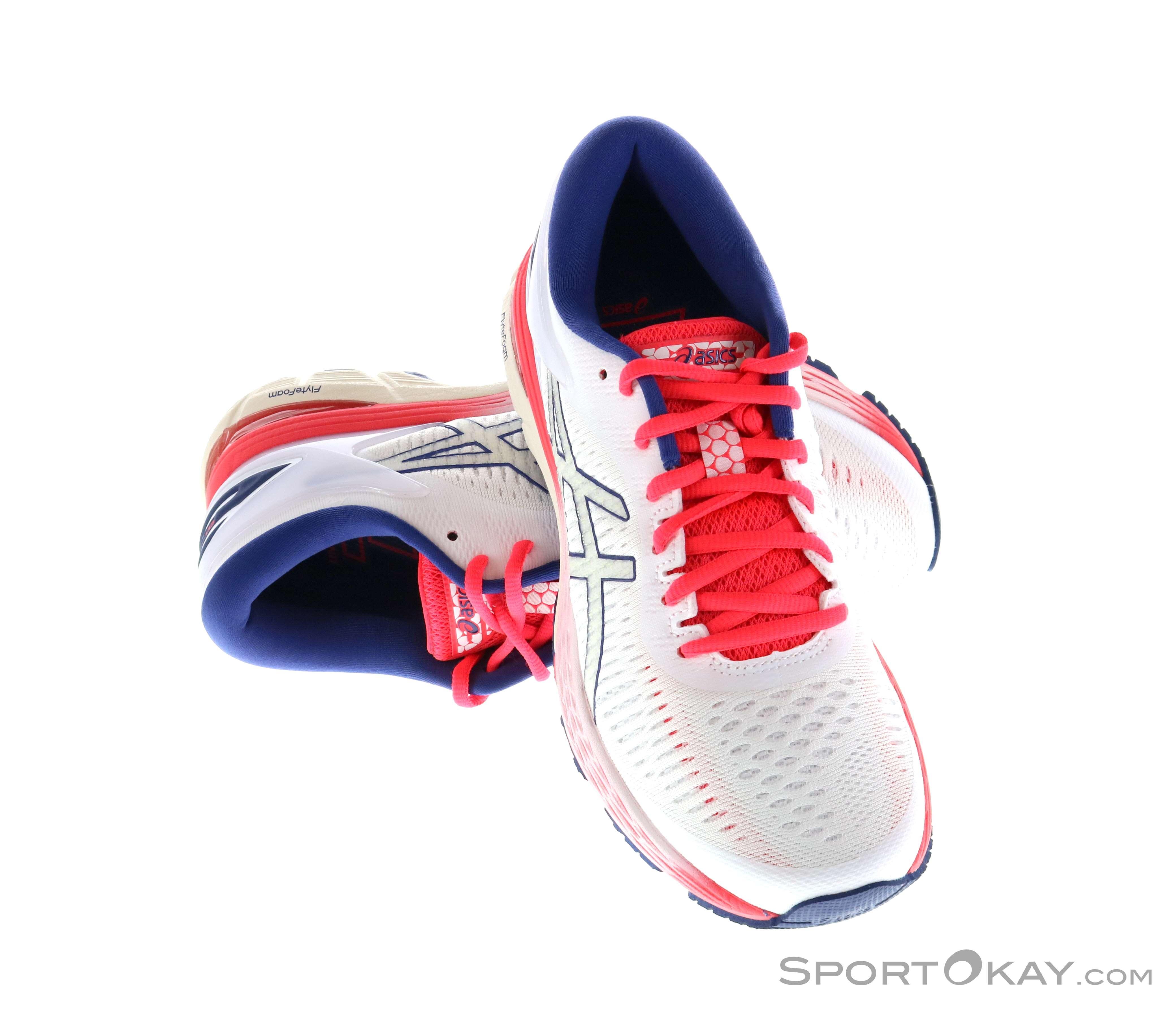 Asics Gel Kayano 25 2019 weiss Laufschuhe Damen Asics in