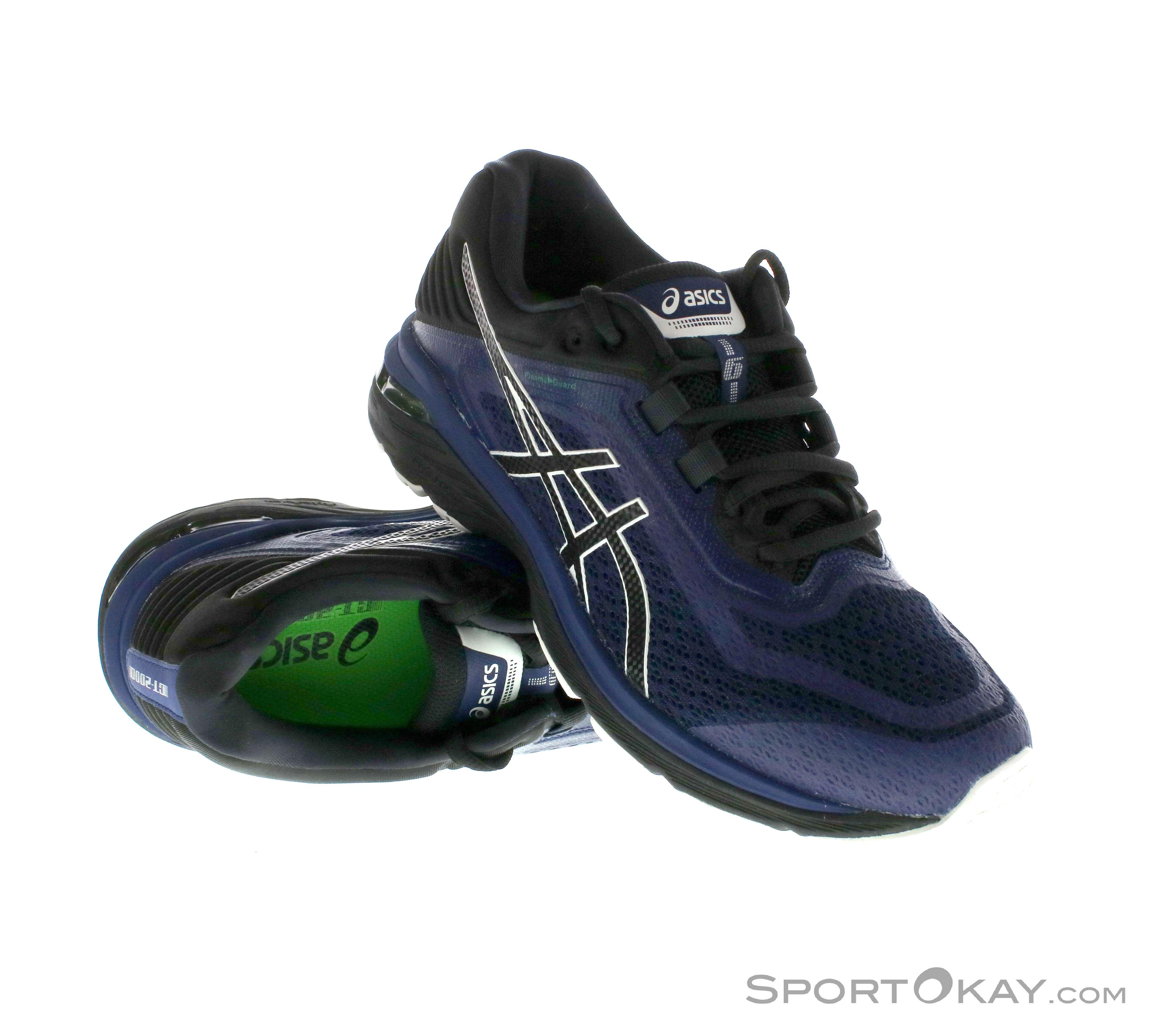 56eaee100ff Asics GT 2000 6 Trail Plasma Guard Mens Trail Running Shoes, Asics, Blue,