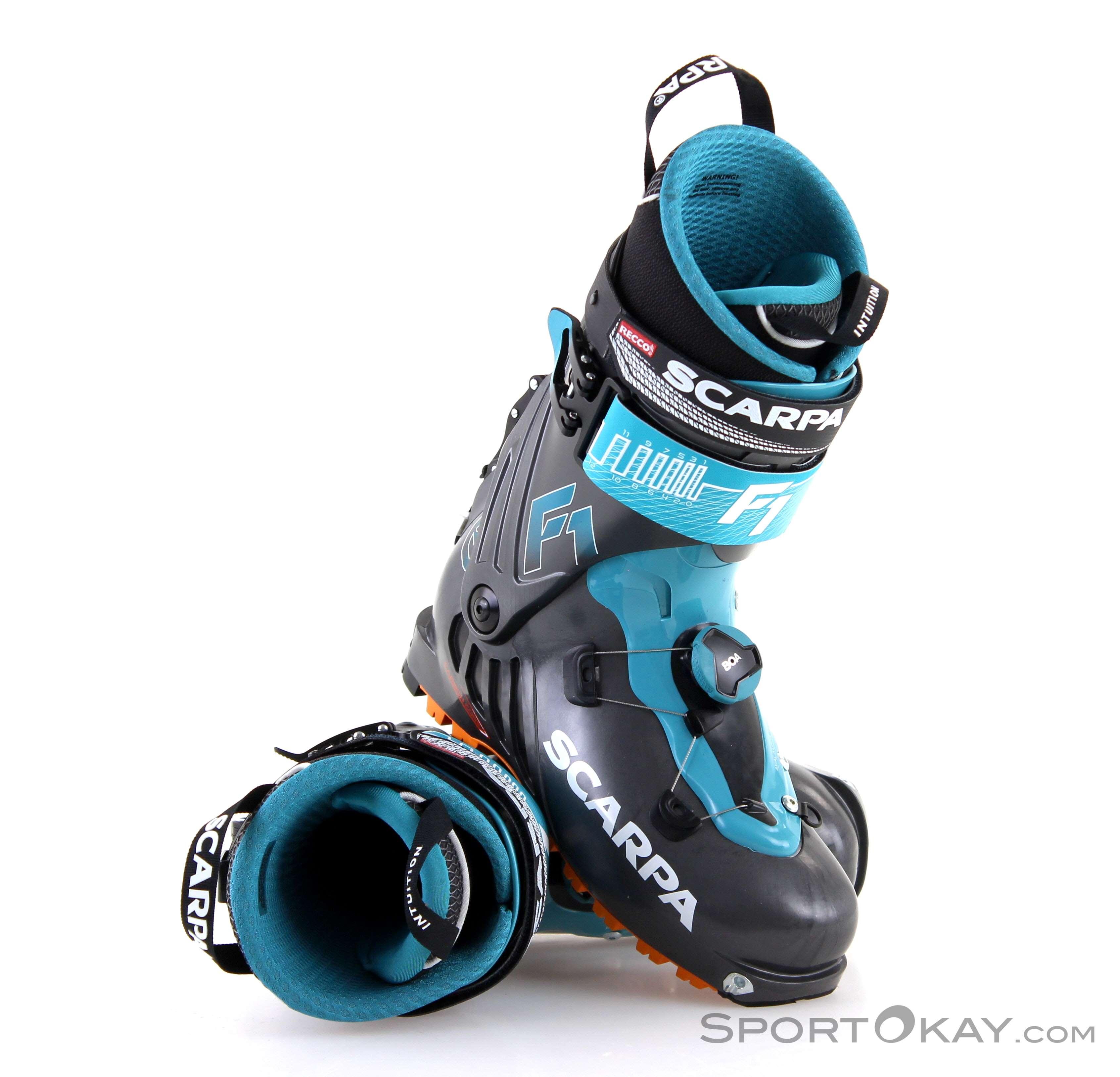 Scarpa F1 Mens Ski Touring Shoes - Ski