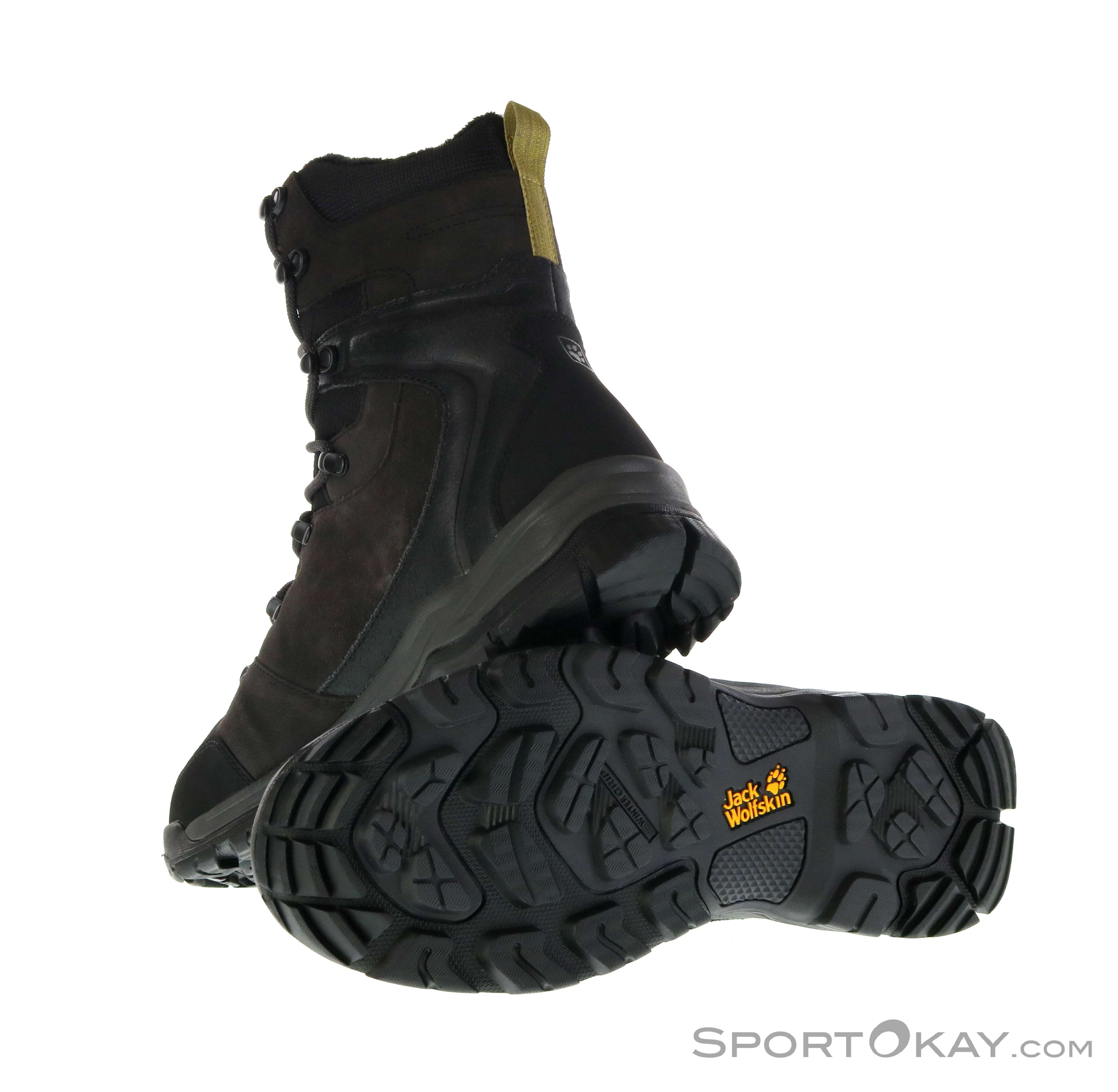 Jack Wolfskin Jack Wolfskin Glacier Bay Texapore High Mens Hiking Boots