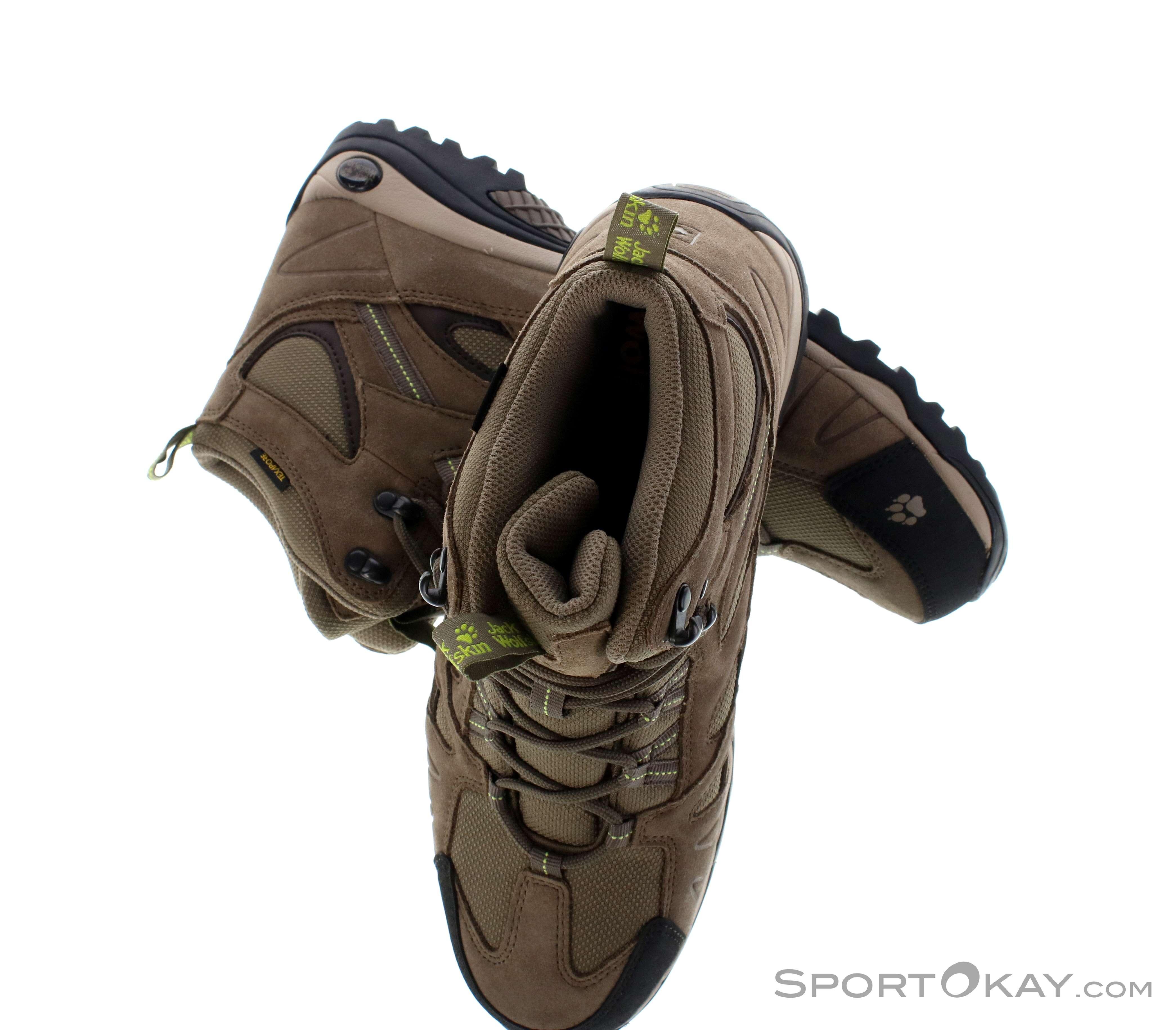 Mid Boots Texapore Womens Jack Wolfskin Hiking Hike Vojo N8wm0n