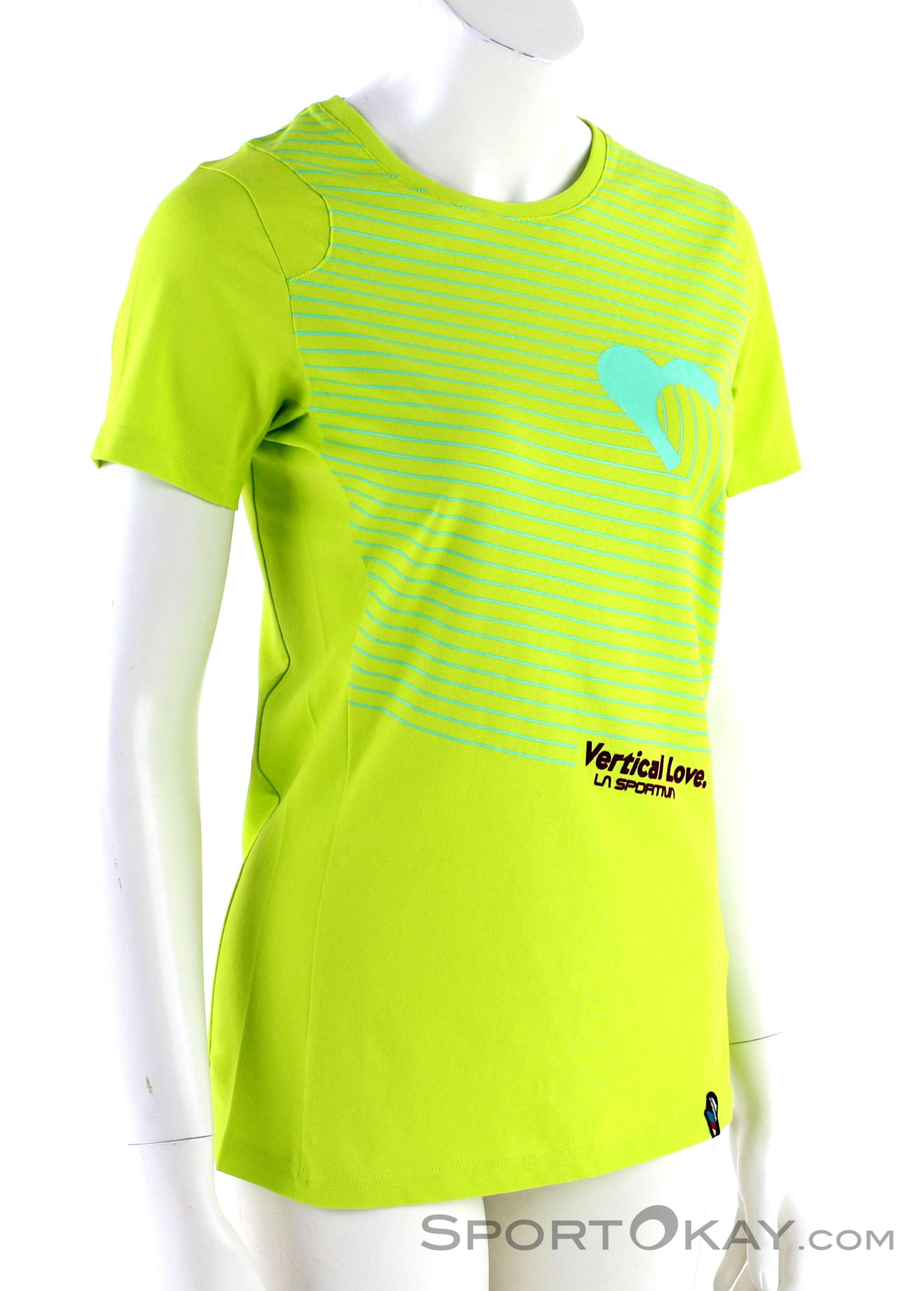 0a441b7778a La Sportiva Vertical Love Womens T-Shirt, La Sportiva, Yellow, , Female