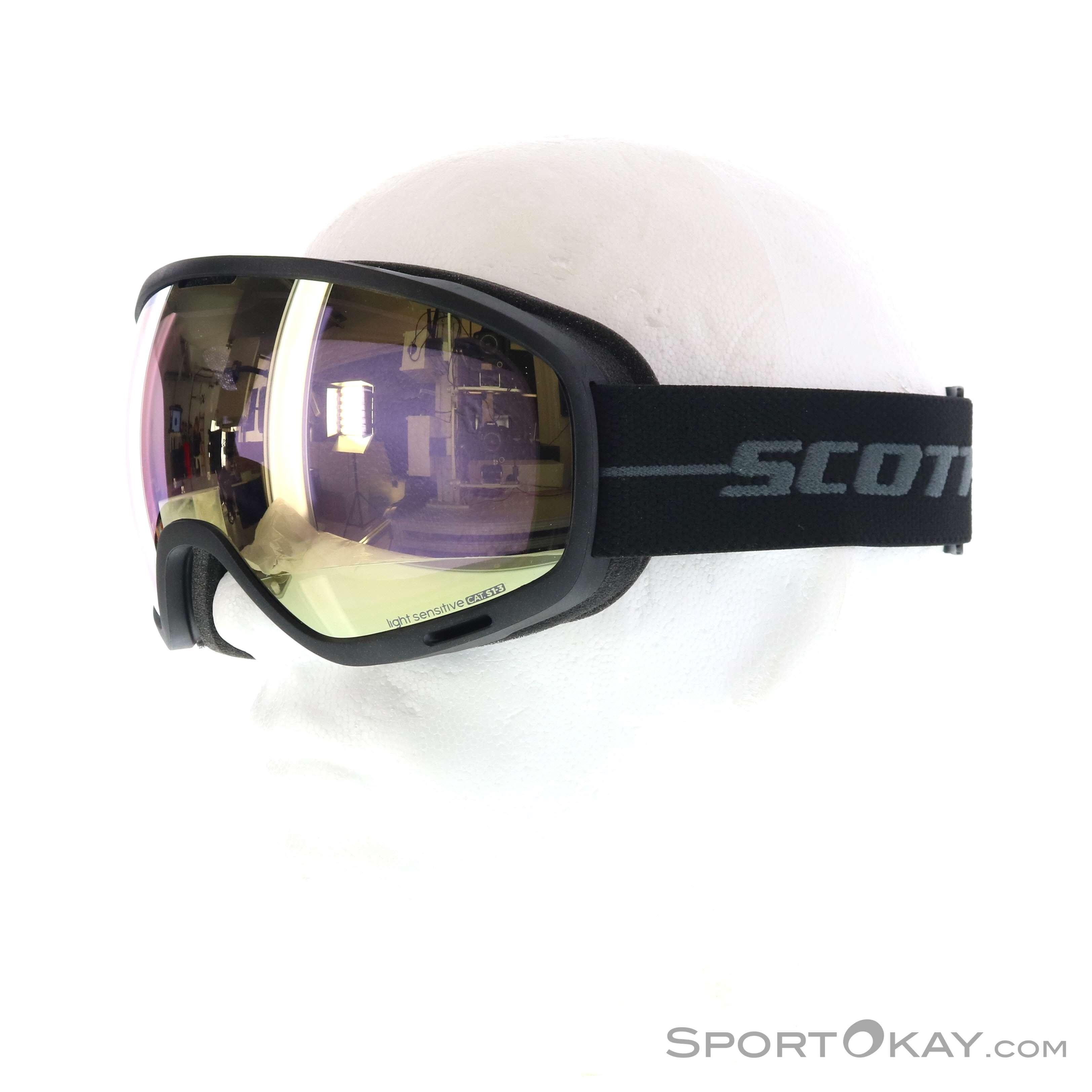 23fe43c75b8 Scott unlimited ii otg light sensitive ski goggle scott black male jpg  3248x3248 Ski goggles with
