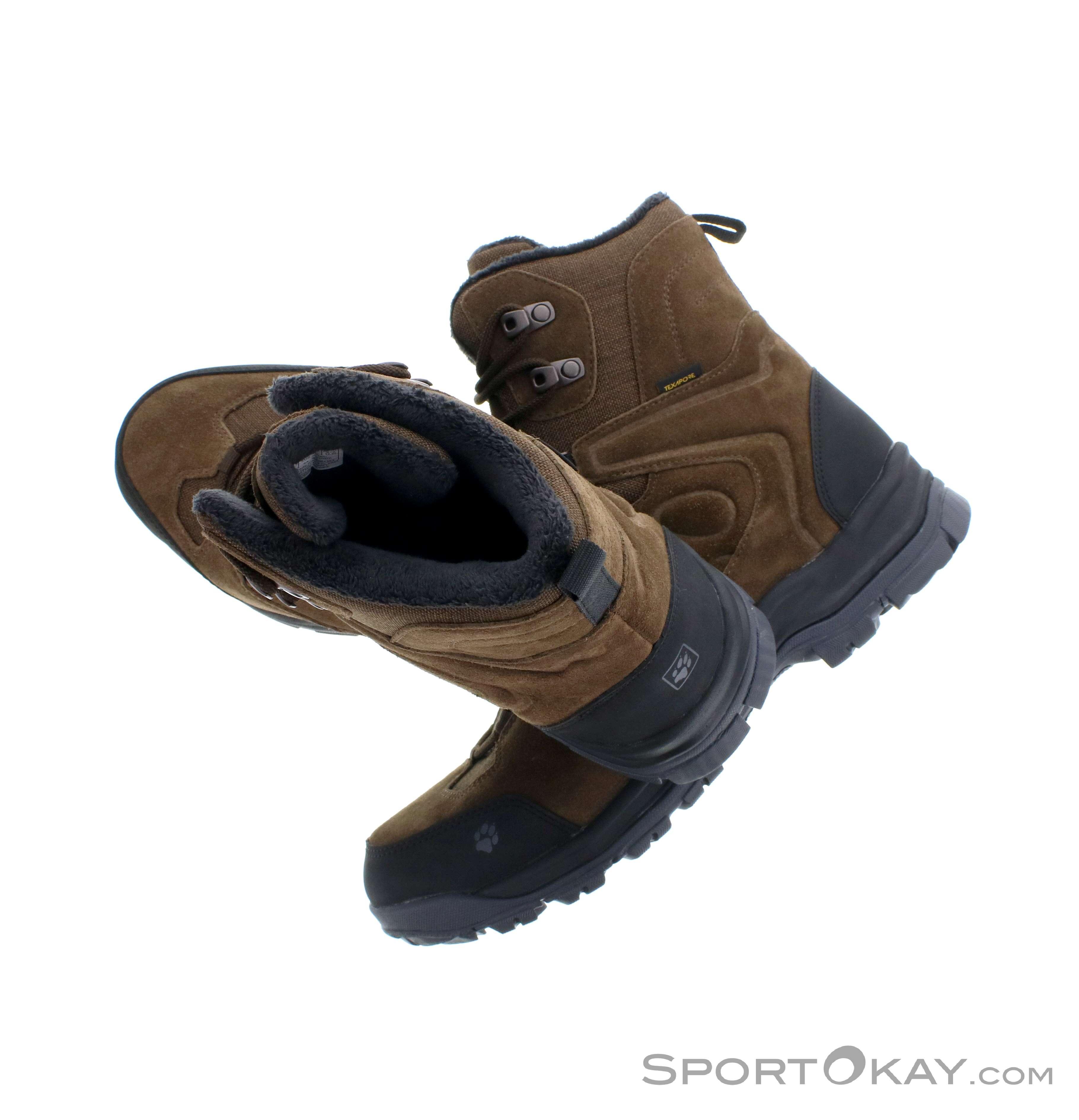 Jack Wolfskin Jack Wolfskin Thunder Bay Texapore High Mens Winter Shoes
