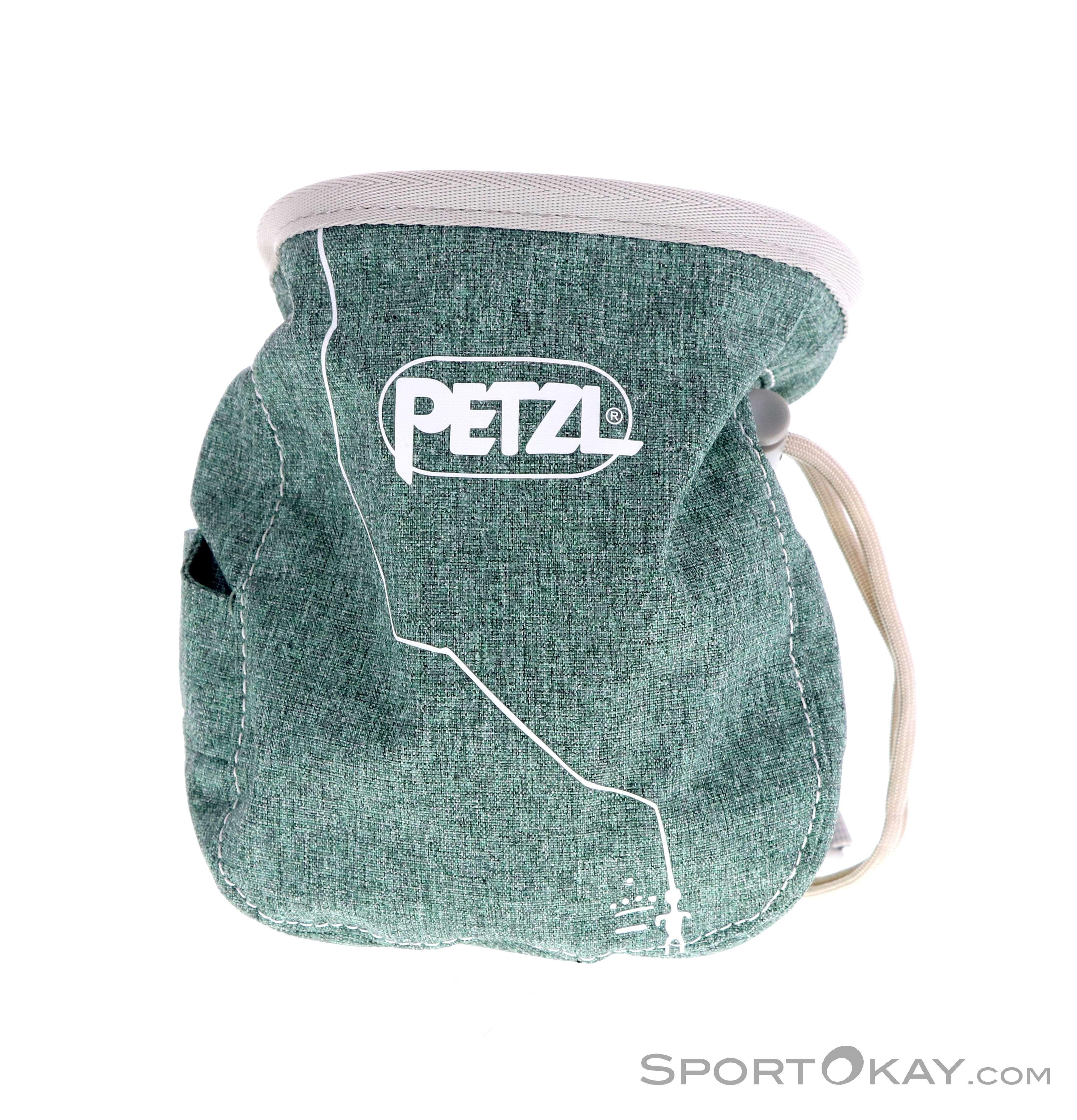 Petzl SAKA Chalk Bag Ergonomic Climbing Bouldering Holder Carry 2018