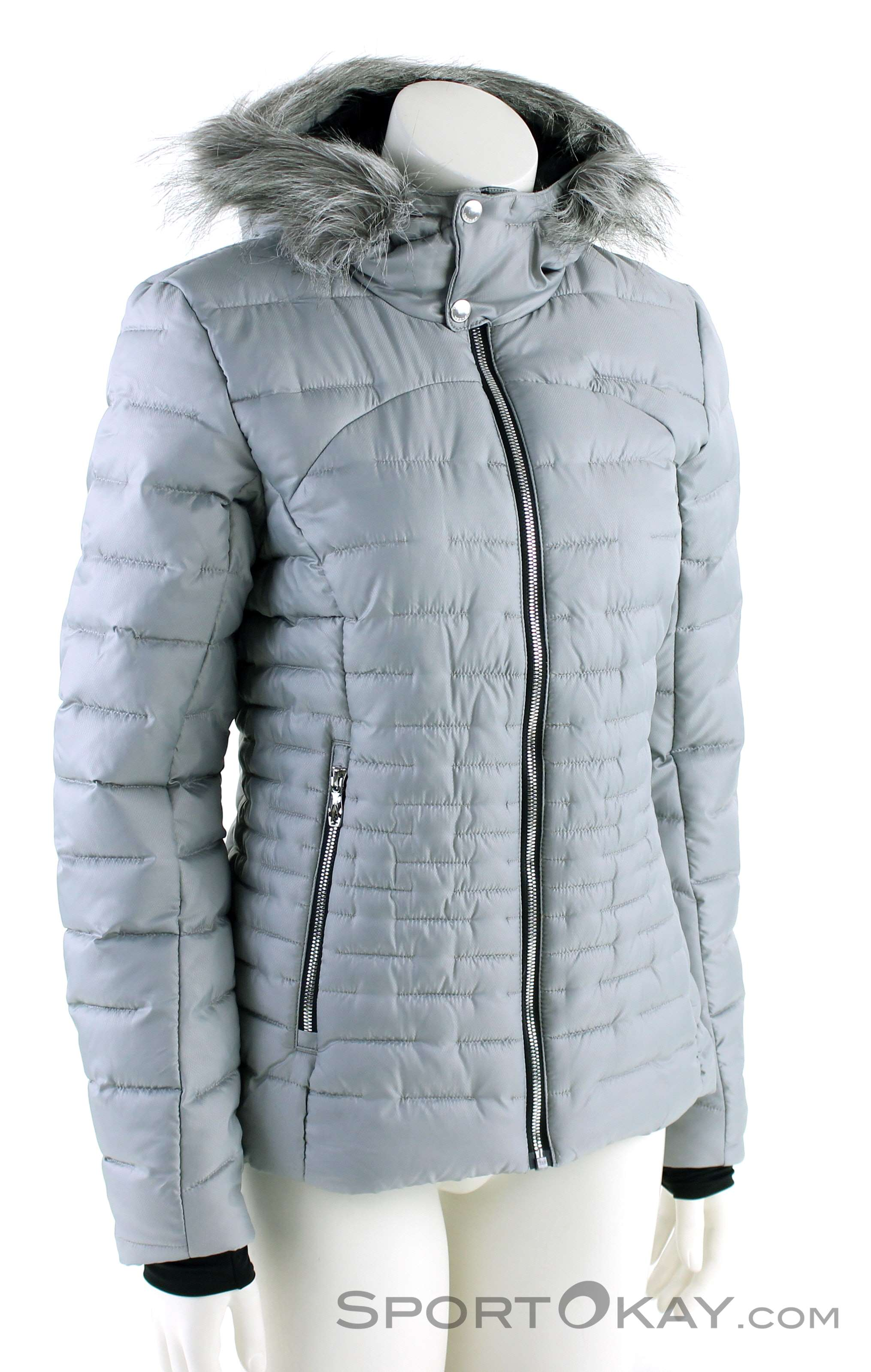 2384908707c5 Spyder Edyn Hoody Insulated Jacket Womens Leisure Jacket, Spyder, White, ,  Female,