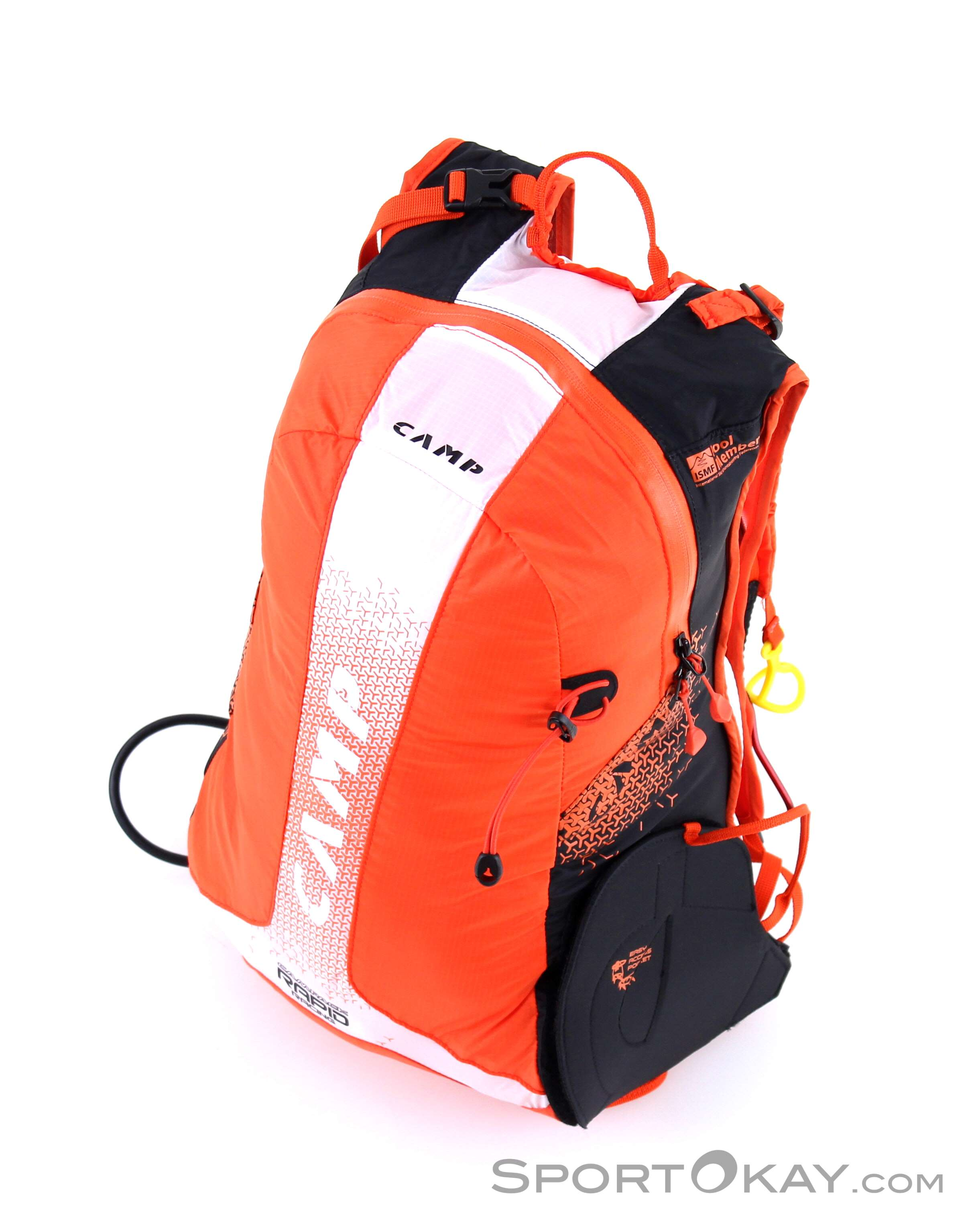 1e5cb91ba8 Camp Rapid Racing 20l Ski Touring Backpack, Camp, Orange, , Male, 0077