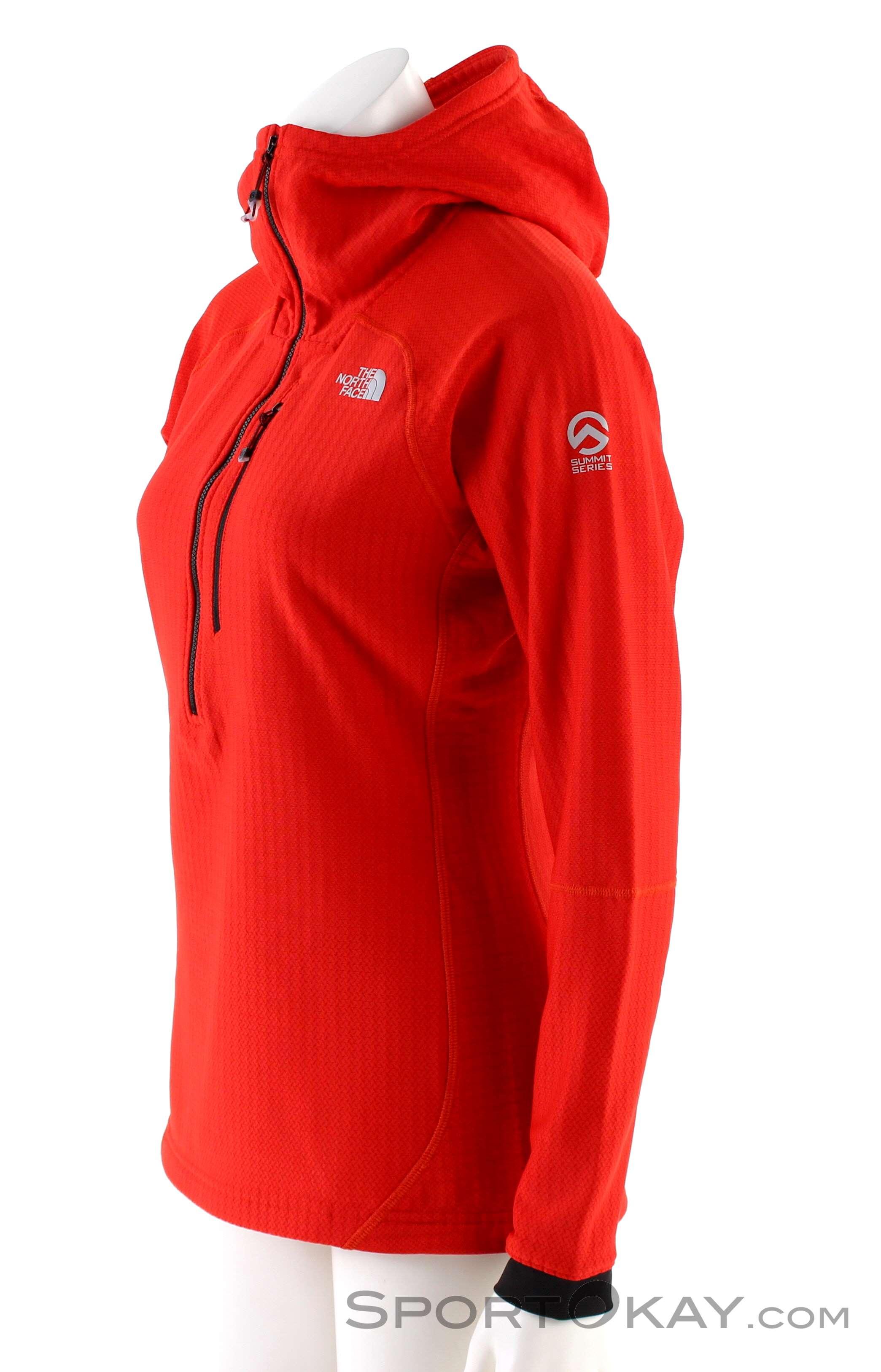 The North Face Summit L2 Fleece HZ Damen Outdoorsweater - Maglie ... 5ec99f436bb6