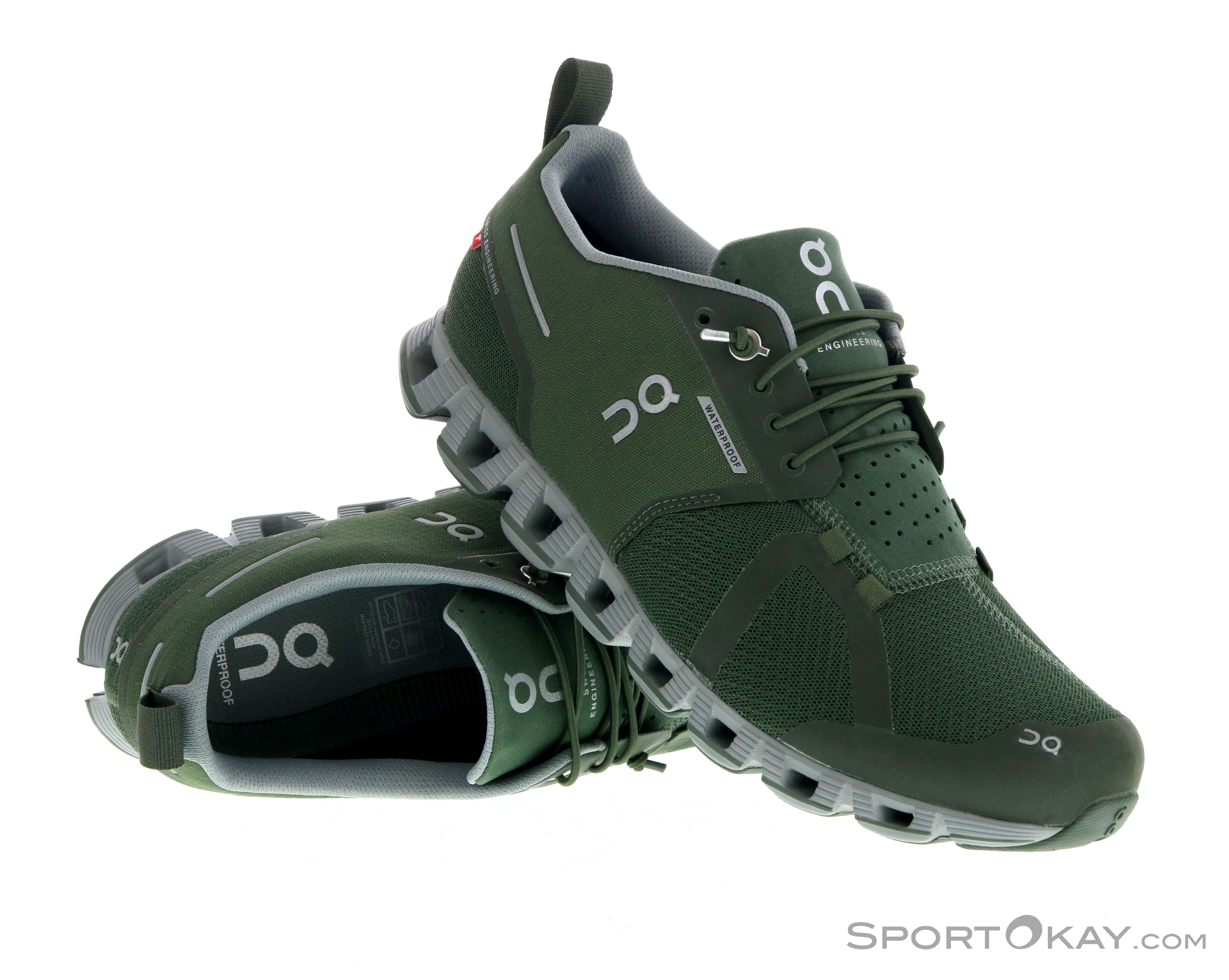 On Cloud Waterproof Mens Running Shoes All Round Running
