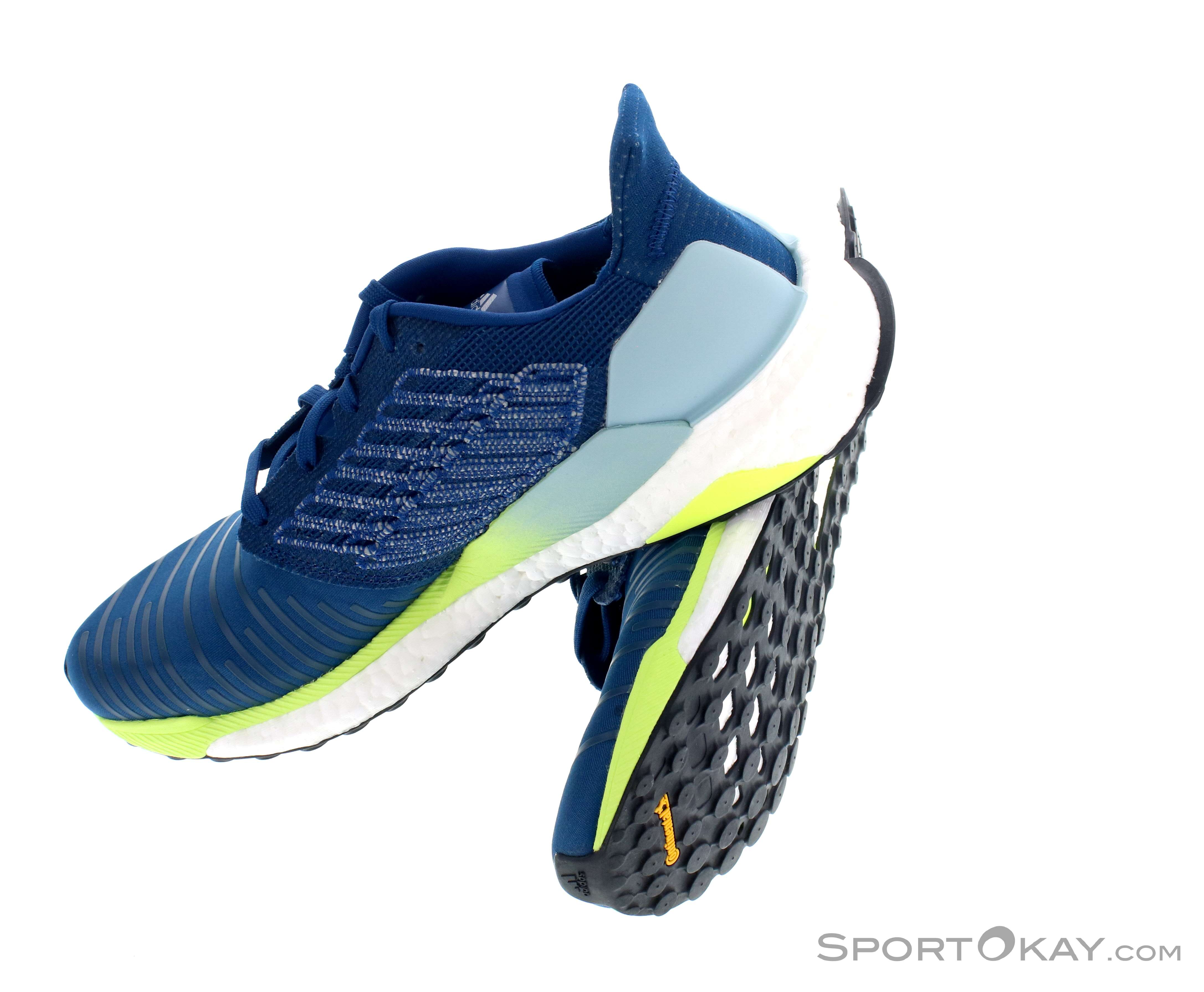 buy popular 96dfd cd0d3 adidas Solar Boost Mens Running Shoes , adidas, Blue, , Male, 0002-