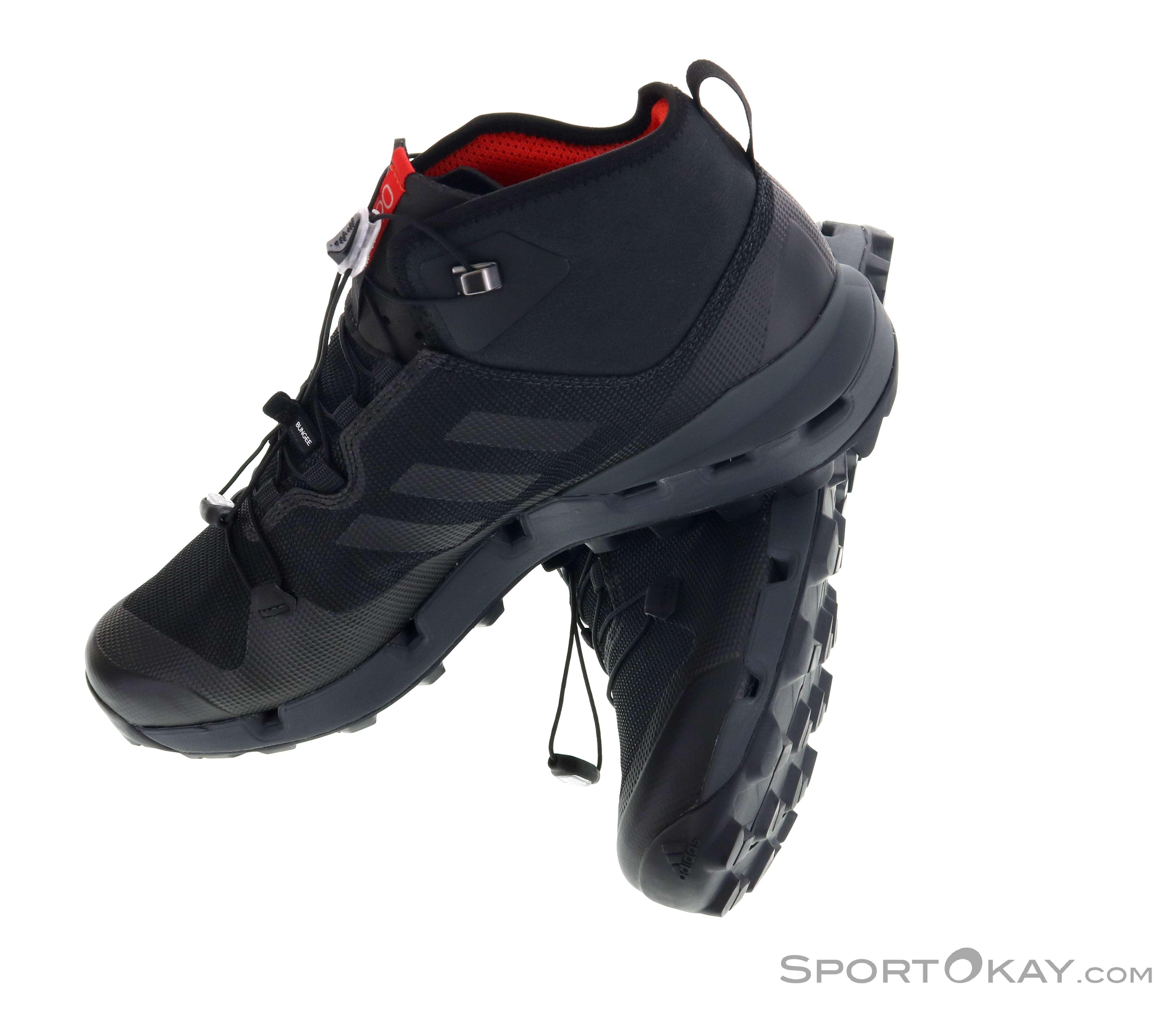 on sale f1865 072d5 adidas Terrex Fast Mid GTX Mens Hiking Boots Gore-Tex, adidas, Black,