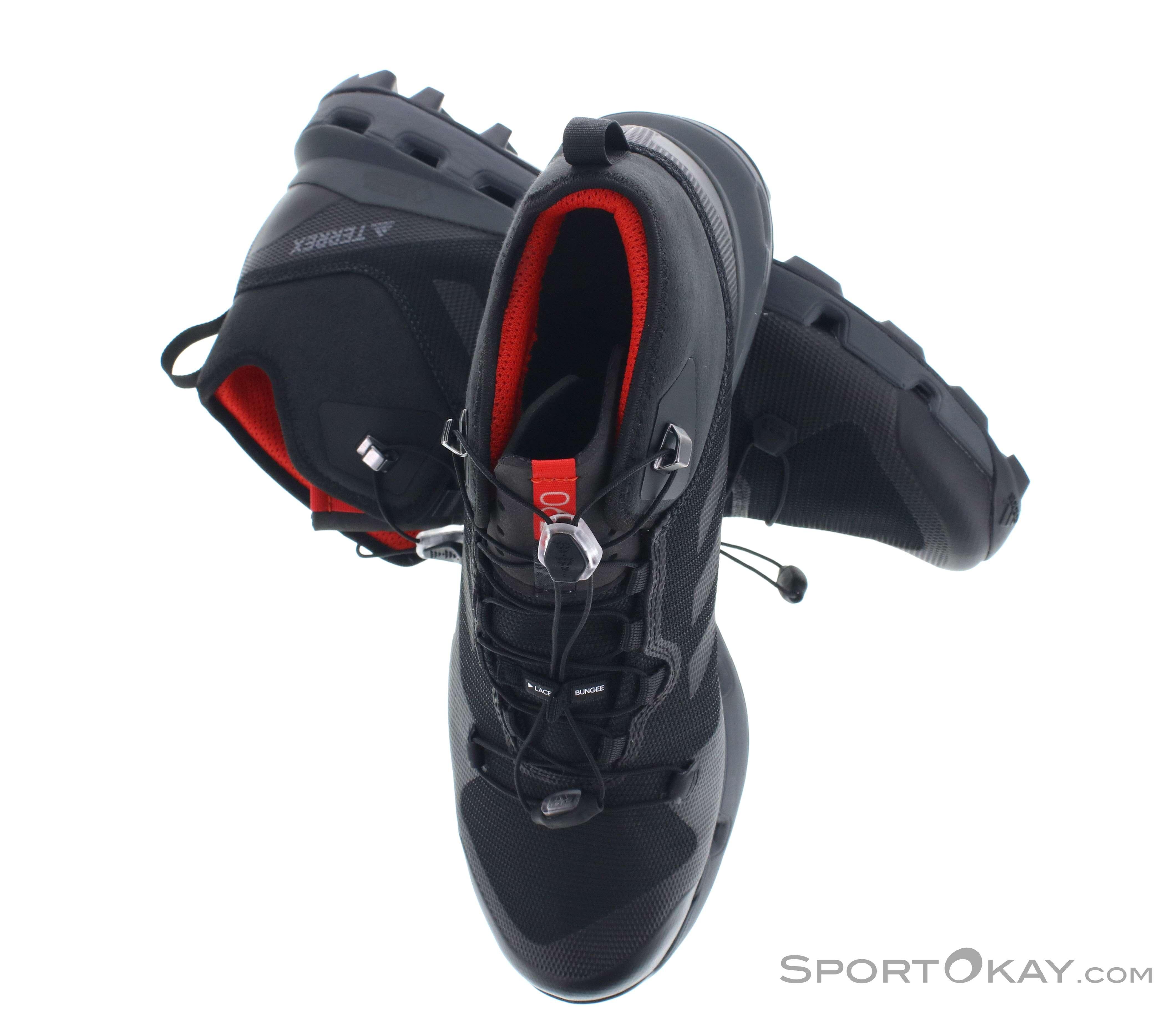 best sneakers 57b8f 79b8c adidas Terrex Fast Mid Uomo Scarpe da Escursionismo Gore-Tex, adidas, Nero,