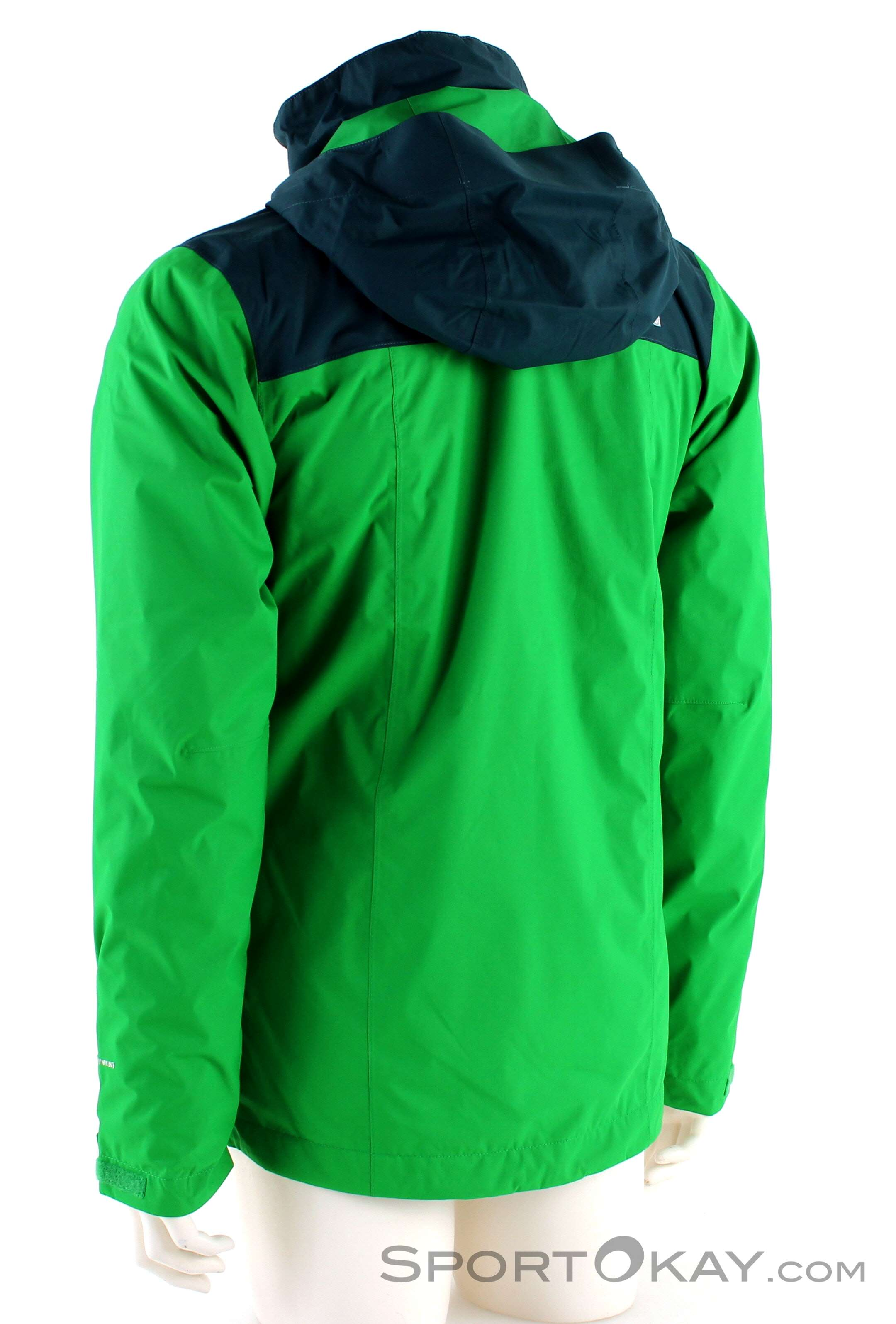 4b2c6de111c623 The North Face Evolve II Triclimate Mens Outdoor Jacket, The North Face,  Green,