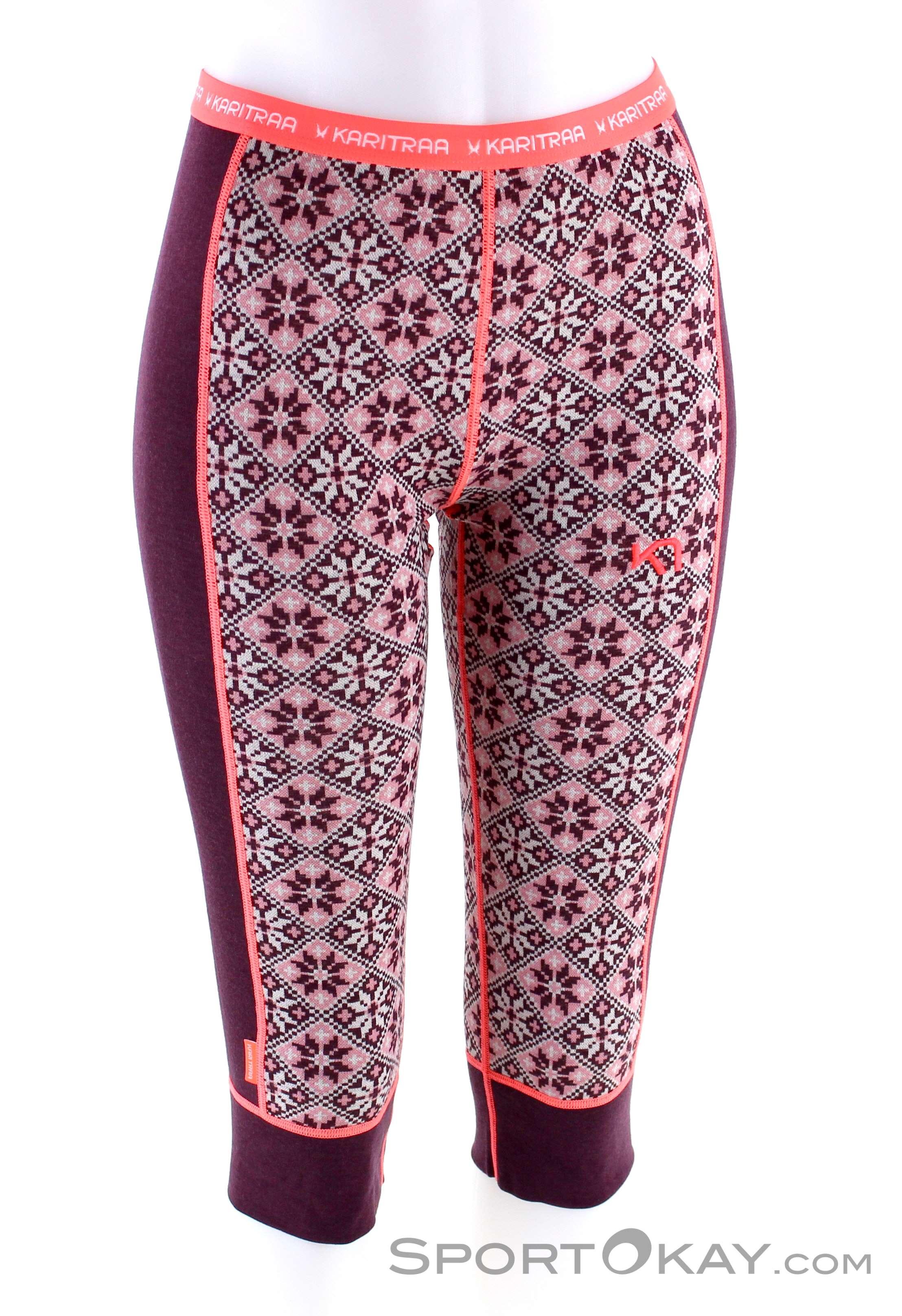 Kari Traa Damen Sjolvsagt 3//4 Hose Yoga-Hose Leggings Laufhose NEU