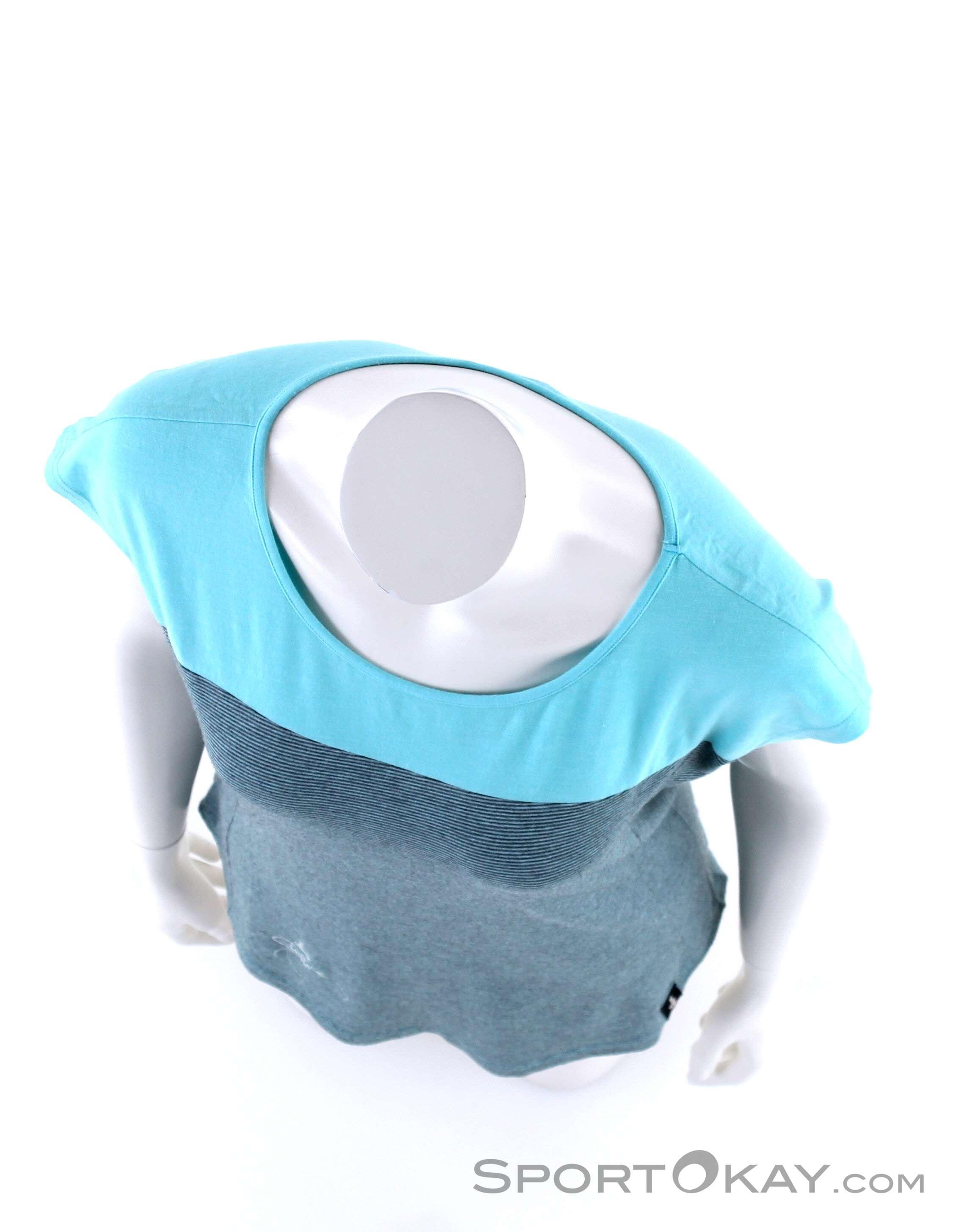 16e1c46610 Chillaz Biella Deer Logo Womens T-Shirt, Chillaz, Blue, , Female,