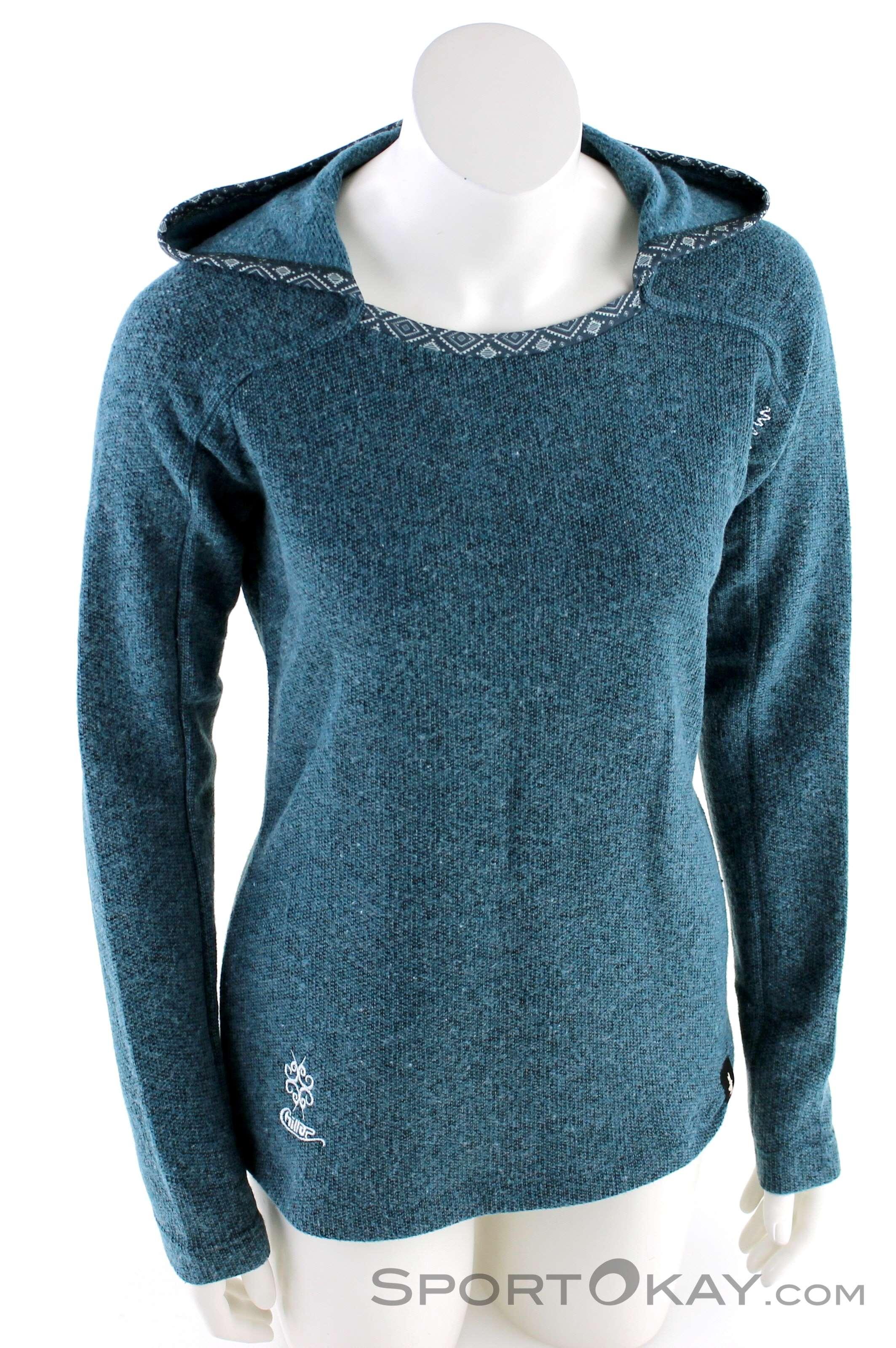 Chillaz Chillaz Bergamo Ornament Logo Womens Outdoor Sweater