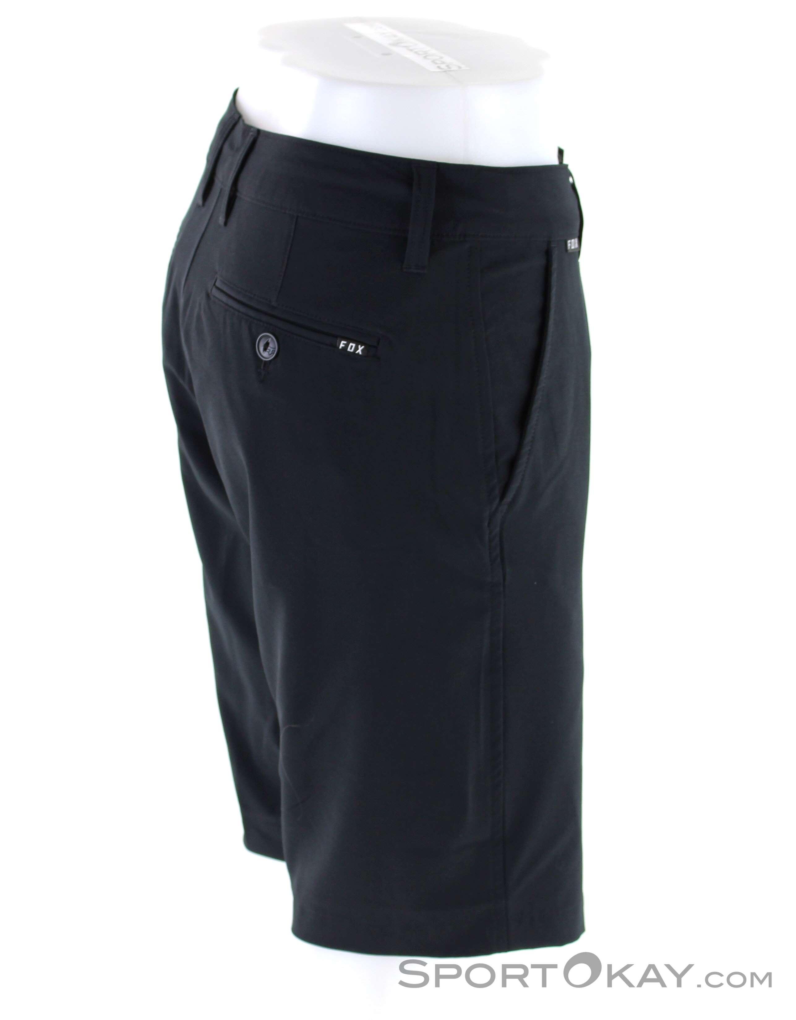 9b629313ef00 Fox Essex Tech Stretch Short Uomo Pantaloncini da Bici , Fox, Nero, , Uomo