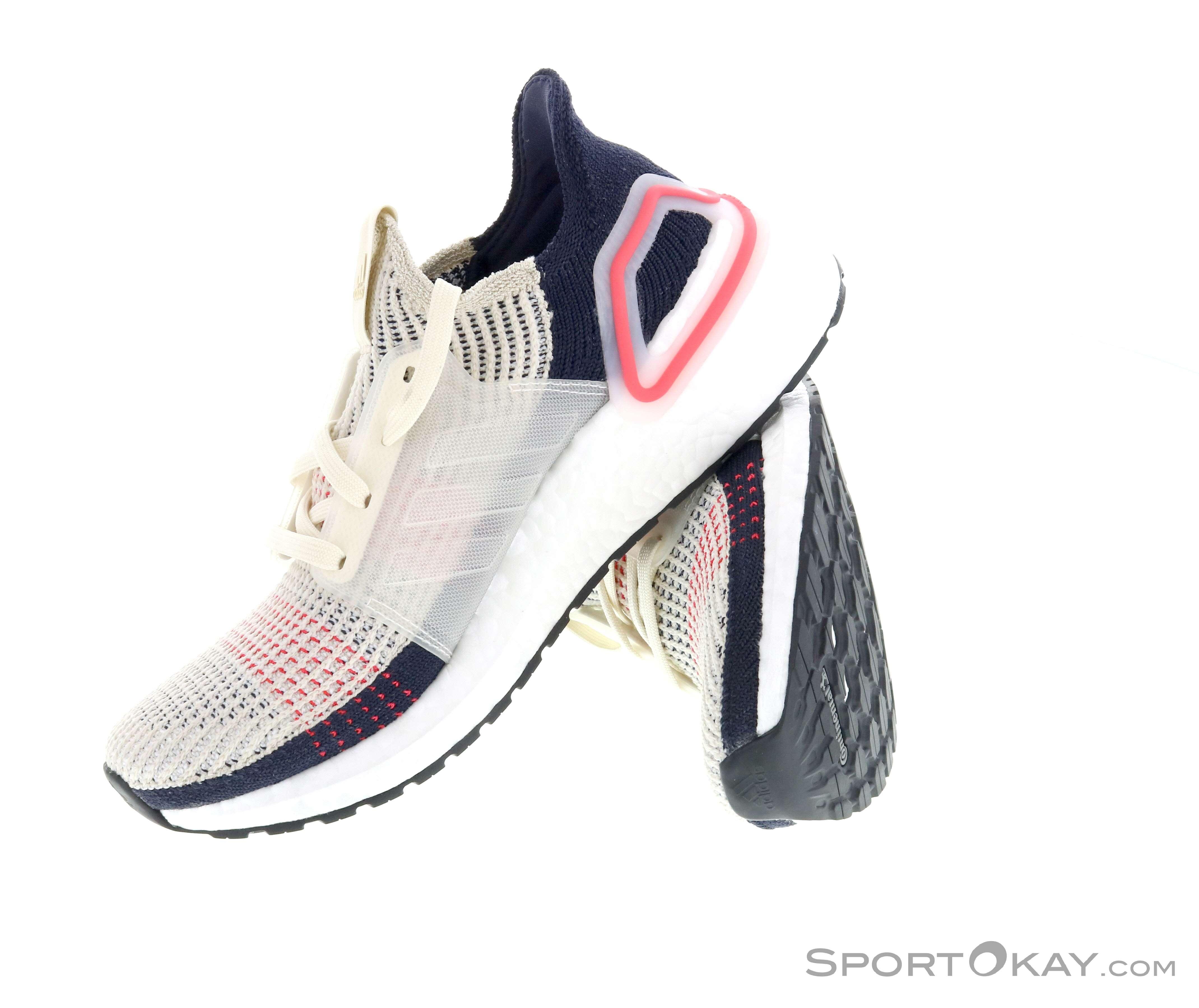 adidas Ultra Boost 19 Running Damen Schwarz Rot