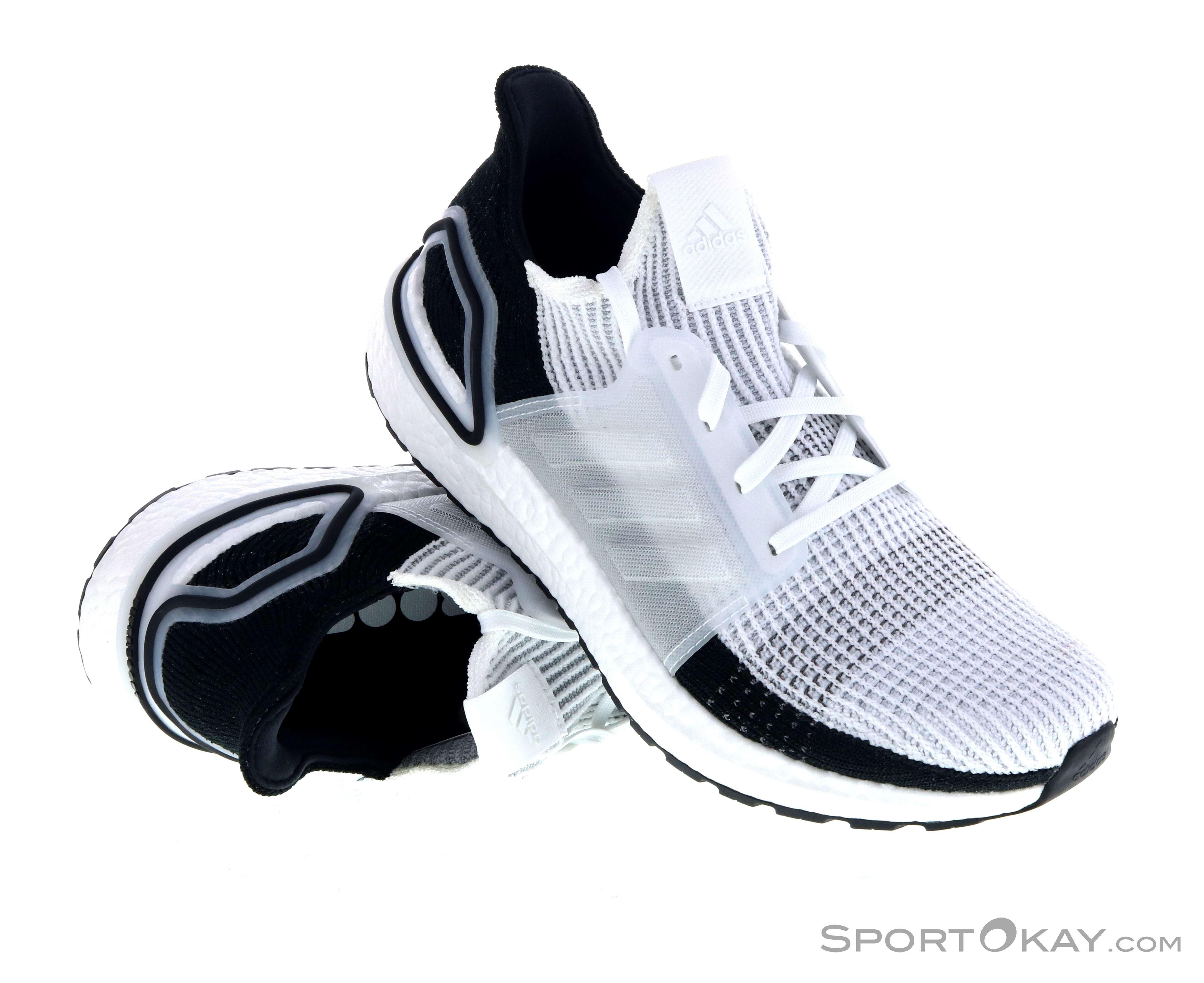 adidas Men's Ultraboost 19 Running Shoes Grey | Adidas