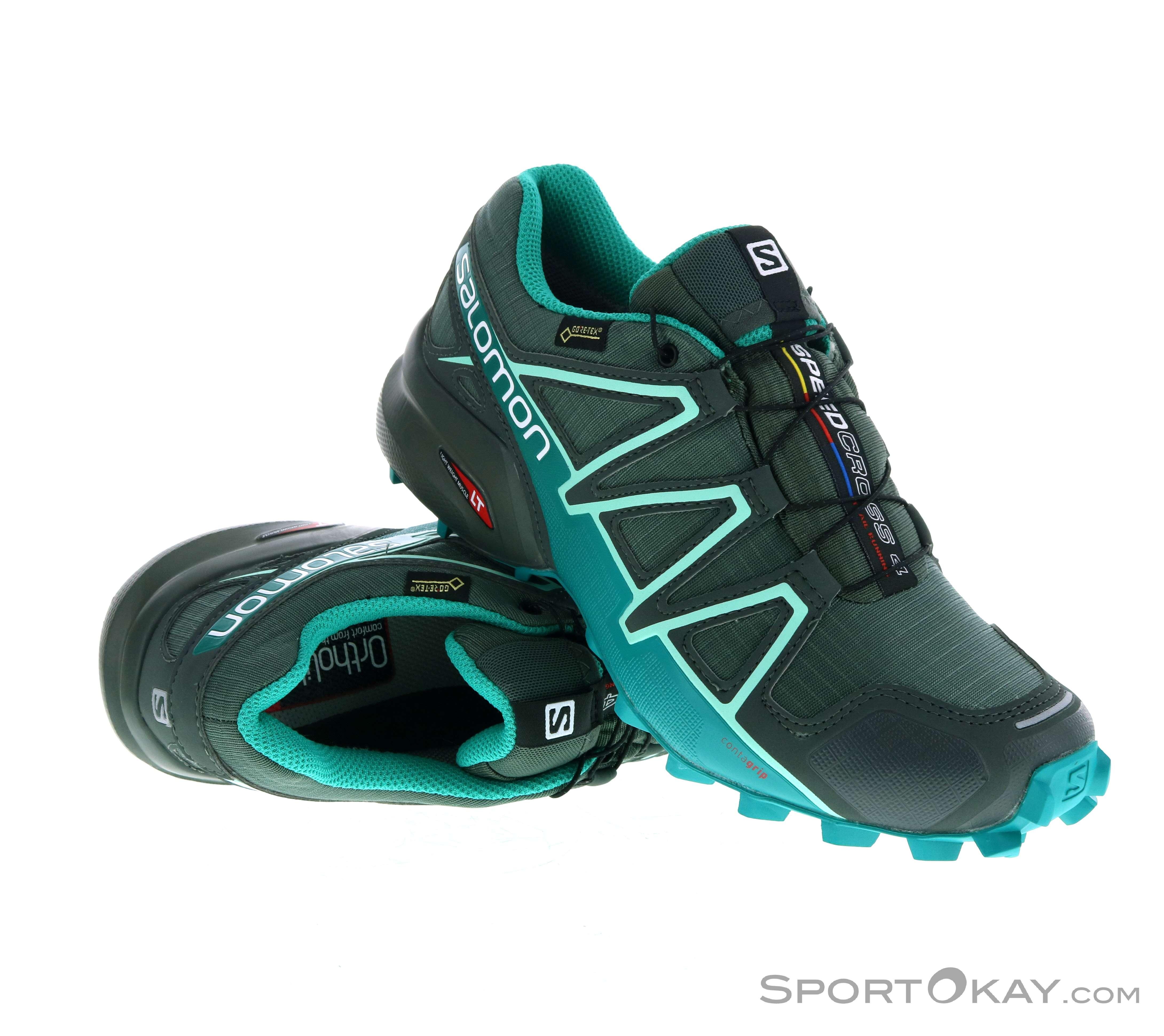 Salomon Speedcross 4 GTX Damen Traillaufschuhe Gore Tex 1TkyH