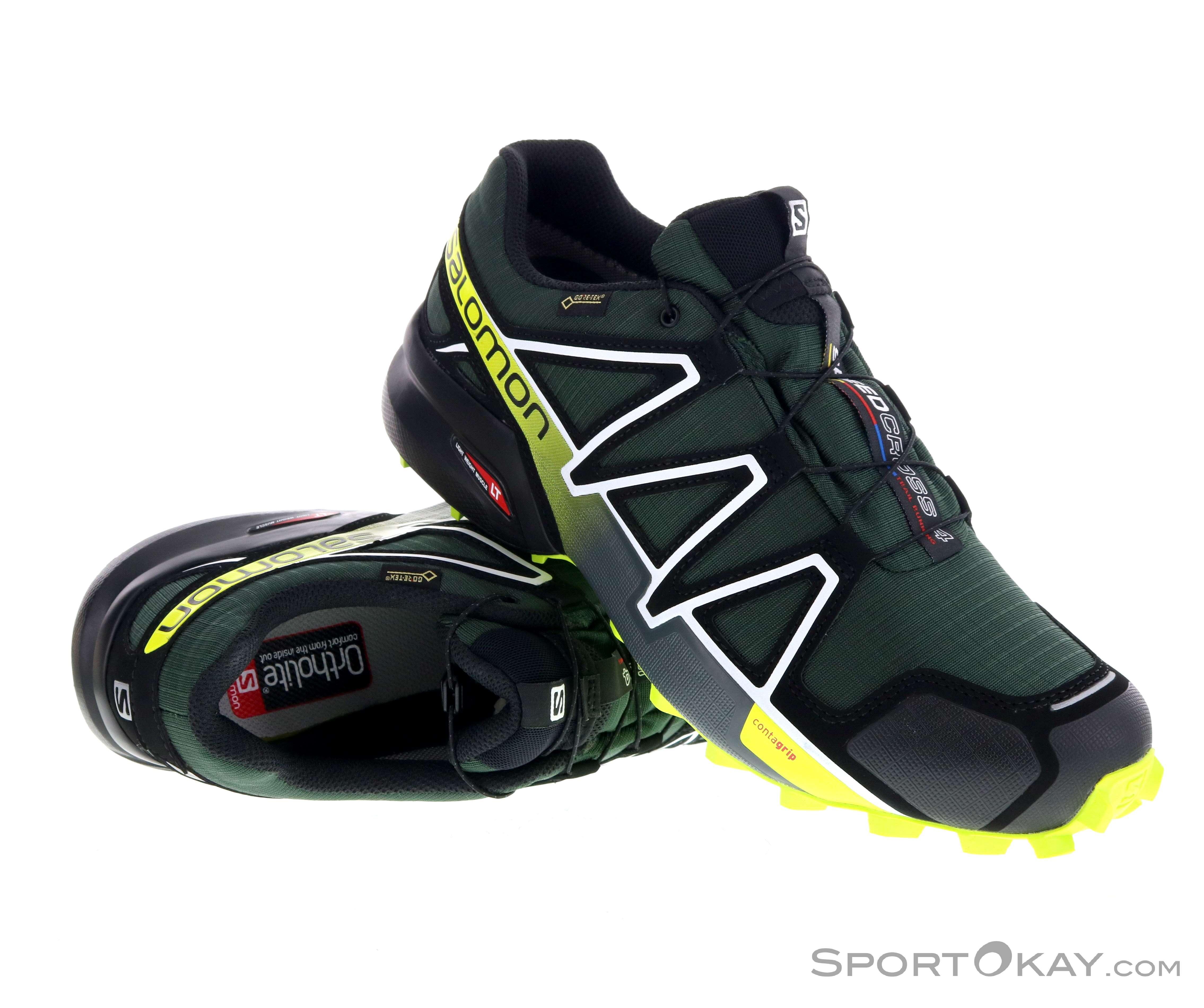 Neu! Salomon Speedcross 4 GTX Gr. 46 23 EU und Schwarz