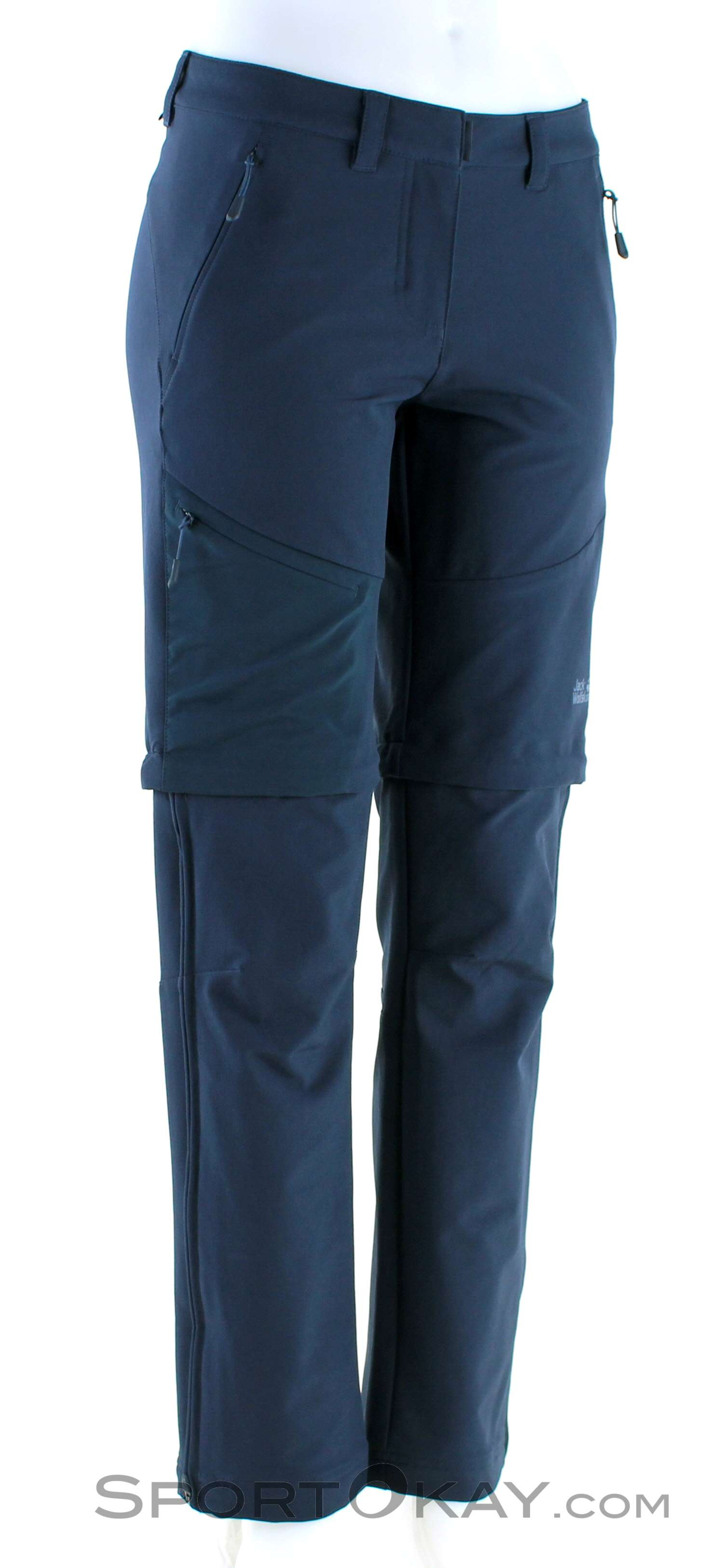 Jack Wolfskin Womens Activate Zip Off Pants