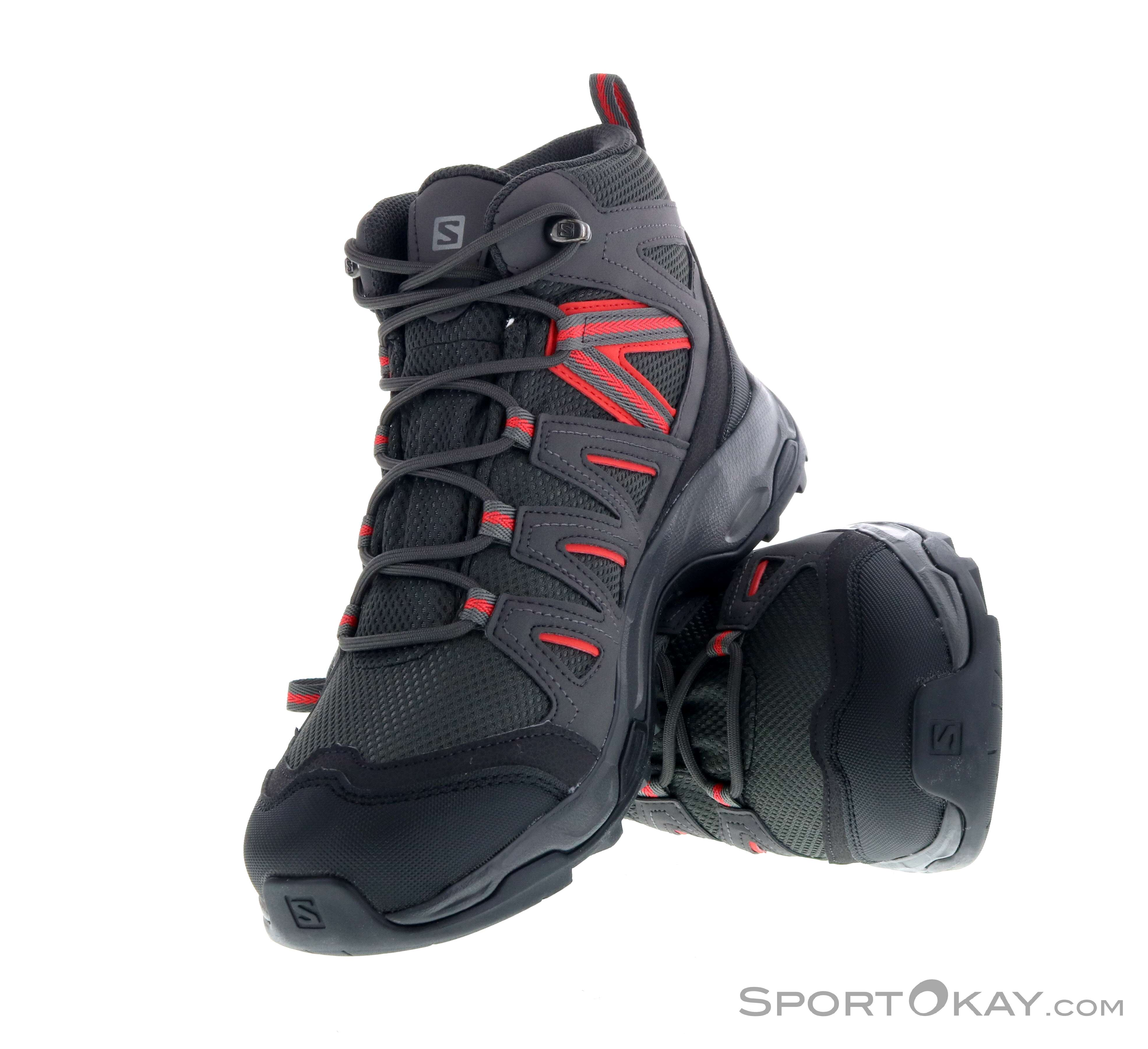 Salomon Hillrock Mid GTX Womens Trekking Shoes Gore Tex